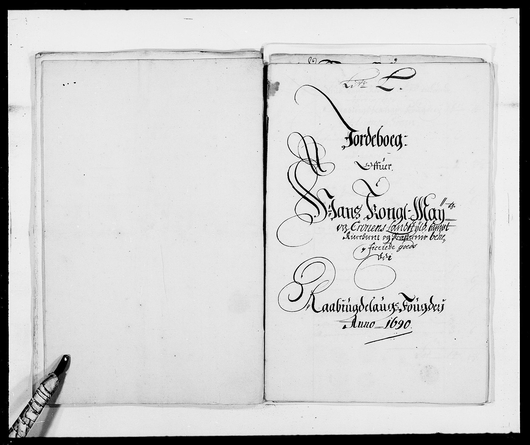 RA, Rentekammeret inntil 1814, Reviderte regnskaper, Fogderegnskap, R40/L2442: Fogderegnskap Råbyggelag, 1689-1690, s. 153