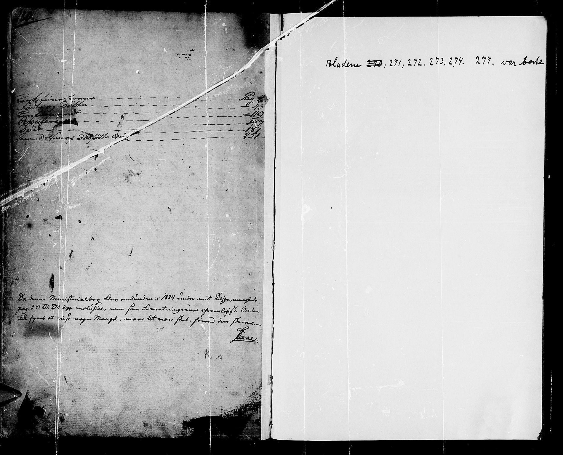 SAB, Lærdal sokneprestembete, Ministerialbok nr. A 4, 1805-1821, s. 280-281