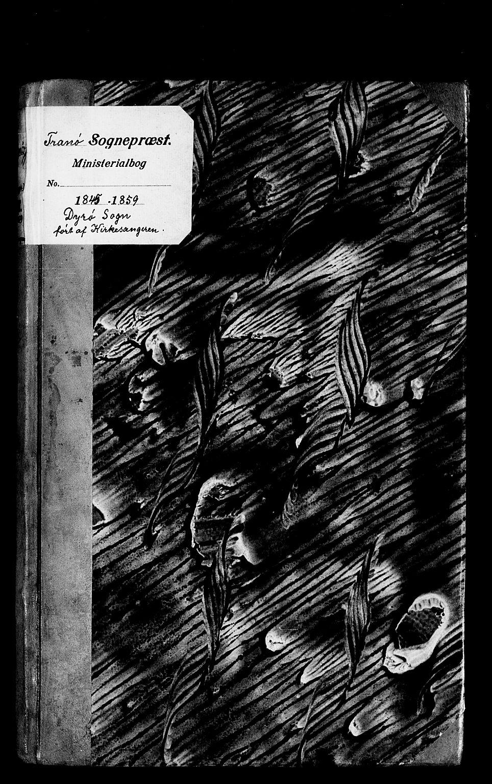 SATØ, Tranøy sokneprestkontor, I/Ia/Iab/L0011klokker: Klokkerbok nr. 11, 1845-1859