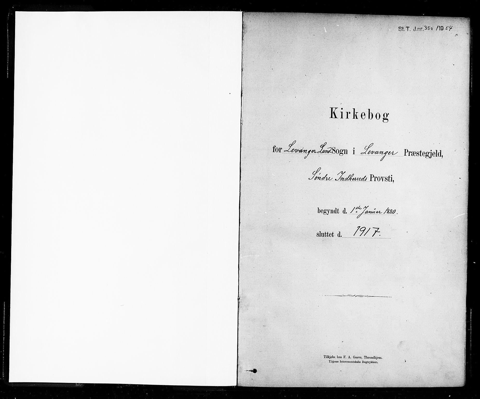 SAT, Ministerialprotokoller, klokkerbøker og fødselsregistre - Nord-Trøndelag, 721/L0208: Klokkerbok nr. 721C01, 1880-1917
