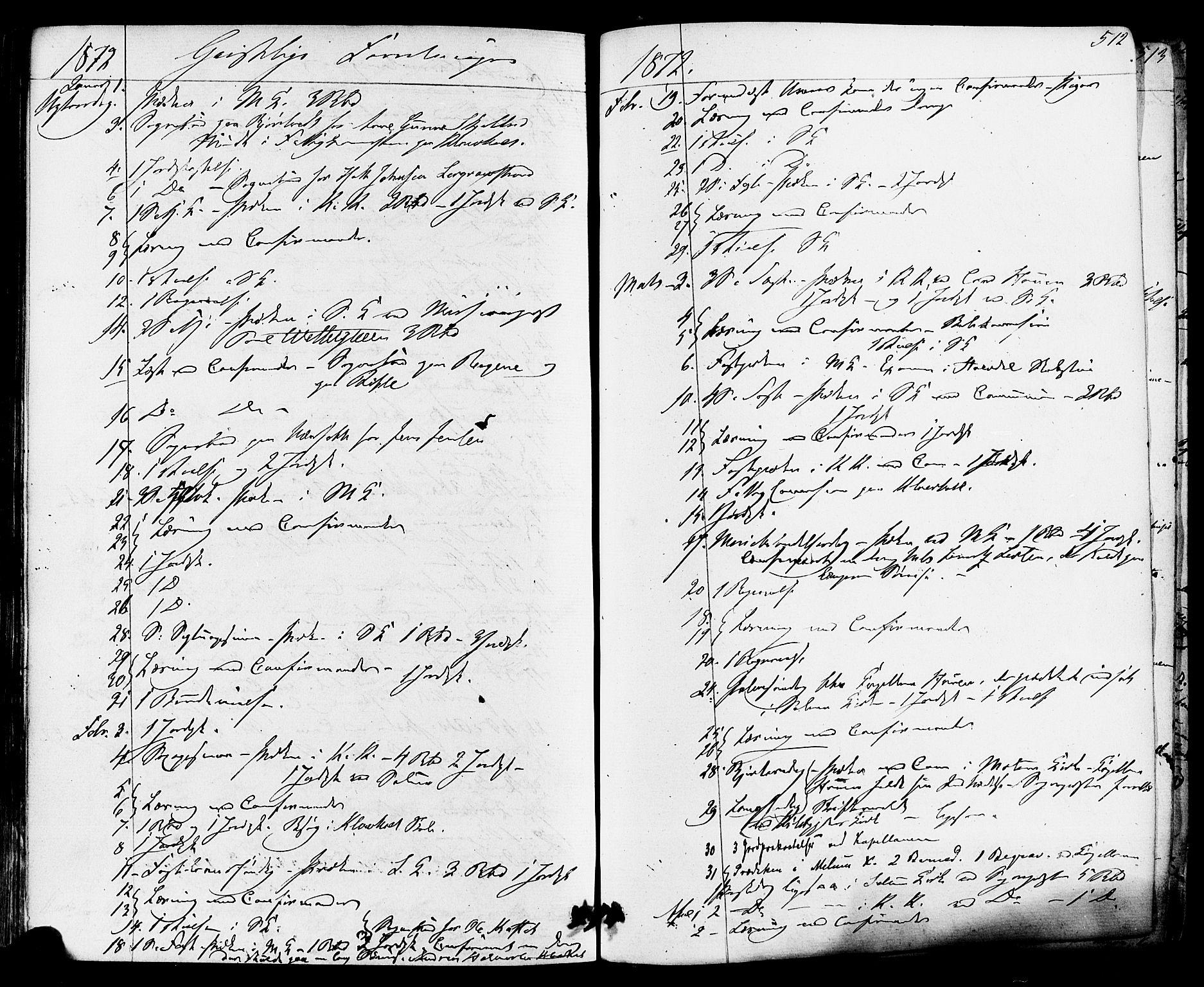 SAKO, Solum kirkebøker, F/Fa/L0008: Ministerialbok nr. I 8, 1865-1876, s. 512