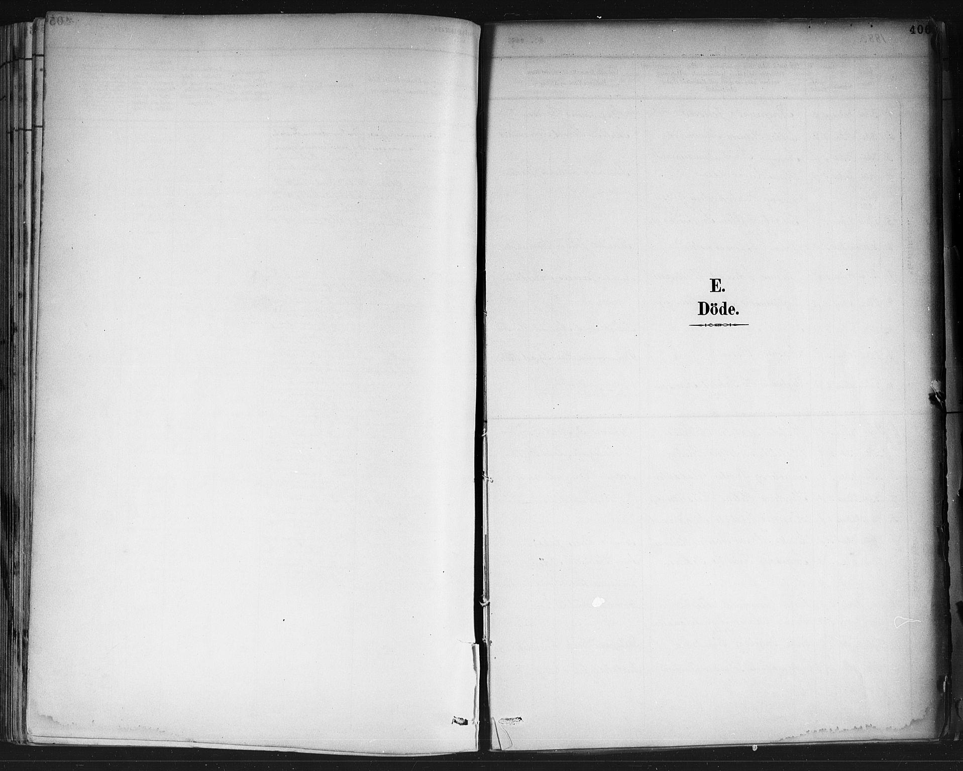 SAKO, Porsgrunn kirkebøker , G/Gb/L0005: Klokkerbok nr. II 5, 1883-1915, s. 406