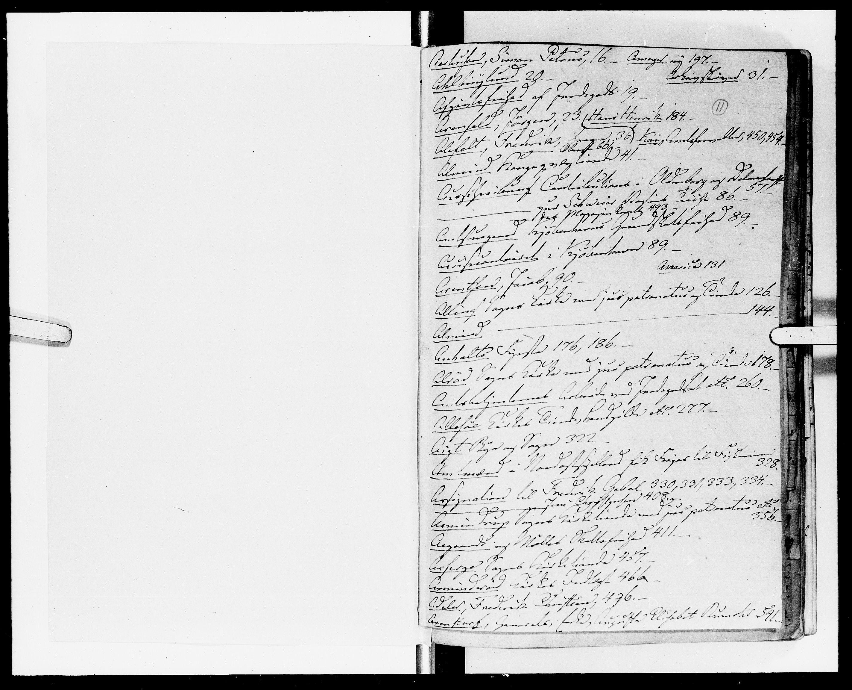 DRA, Rentekammeret Skatkammeret, Danske Sekretariat (1660-1679) / Rentekammeret Danske Afdeling, Kammerkancelliet (1679-1771), -/2212-12: Ekspeditionsprotokol, 1697-1698