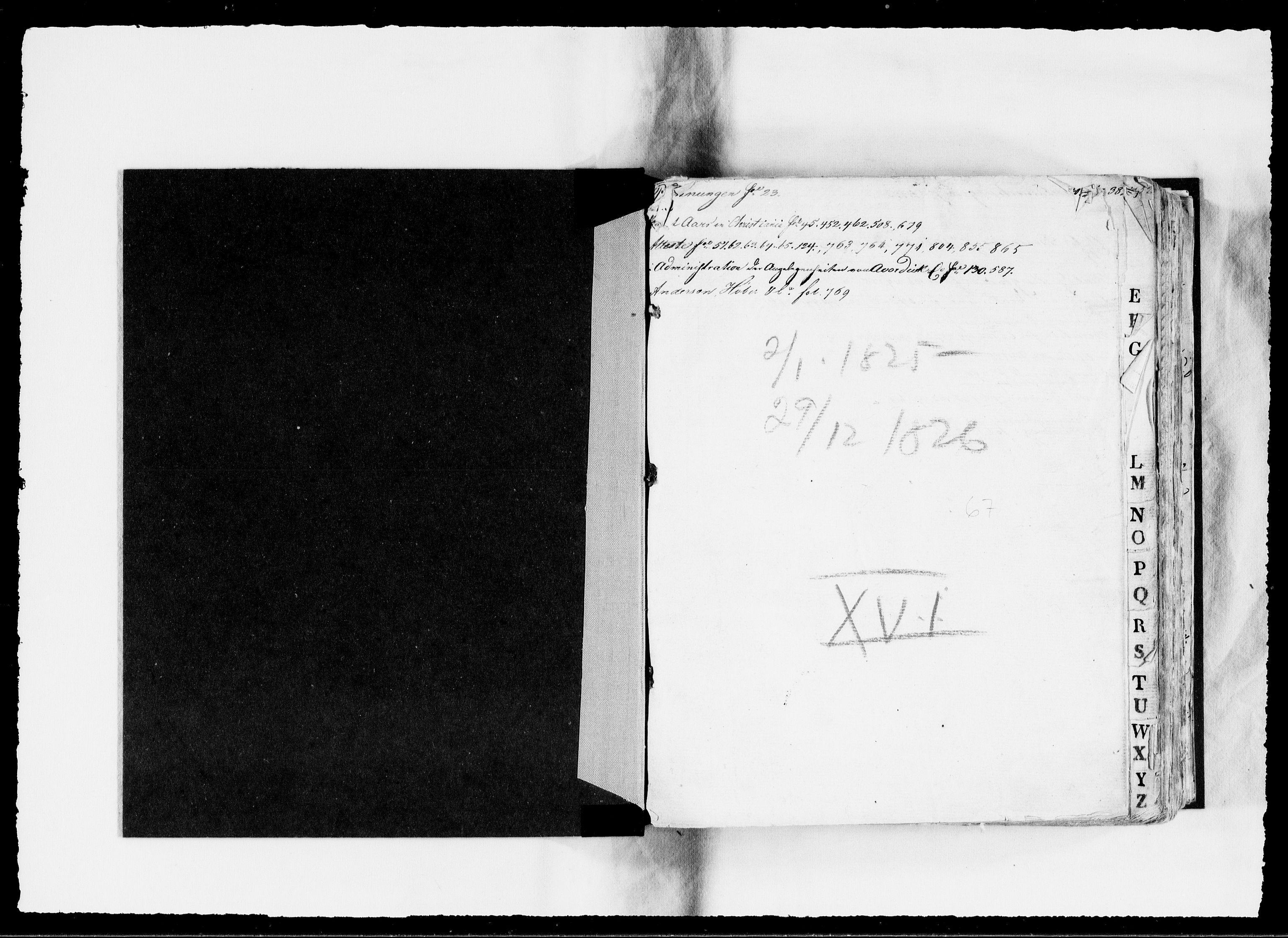 RA, Modums Blaafarveværk, G/Gb/L0067, 1825-1826, s. 2