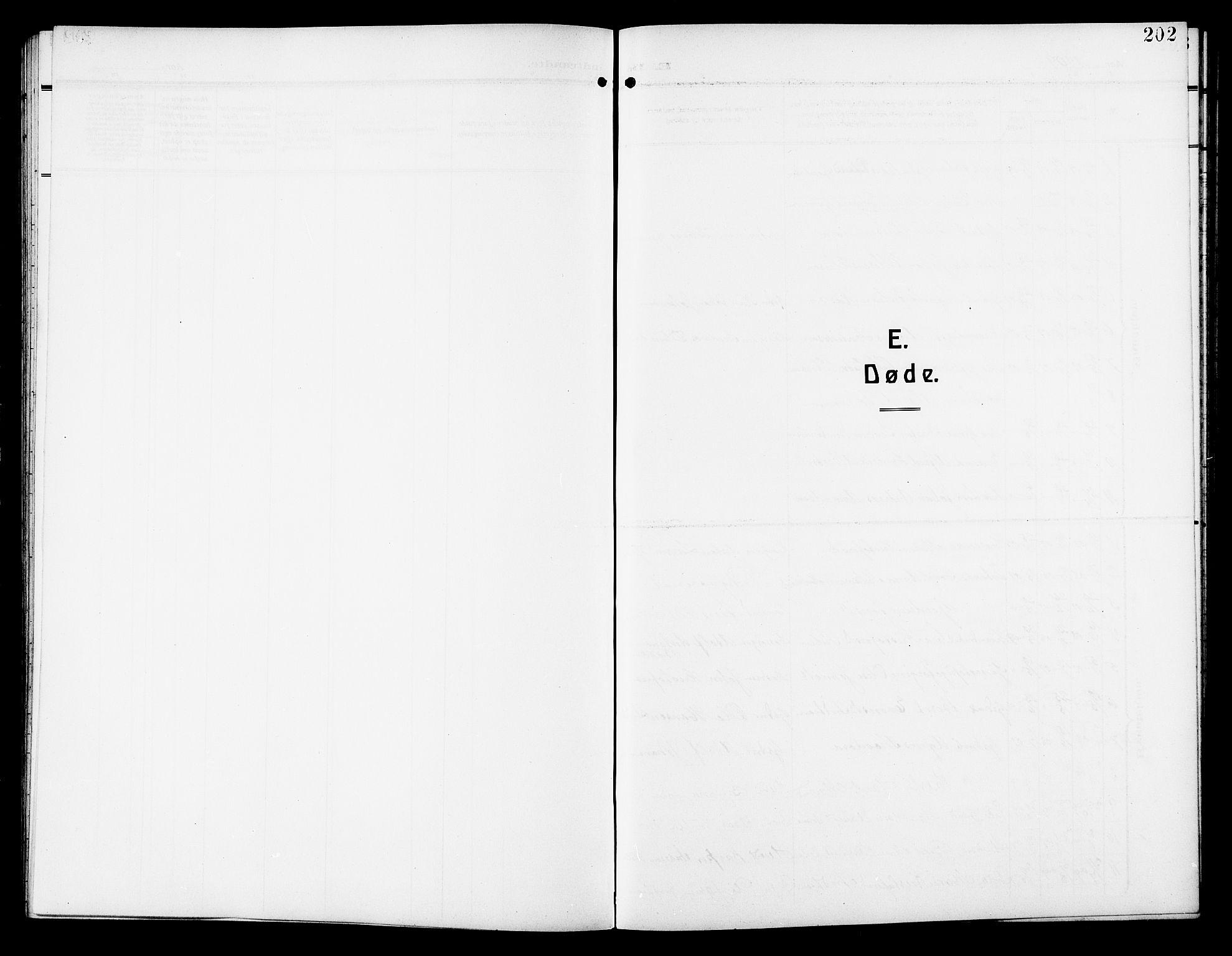 SAT, Ministerialprotokoller, klokkerbøker og fødselsregistre - Sør-Trøndelag, 640/L0588: Klokkerbok nr. 640C05, 1909-1922, s. 202