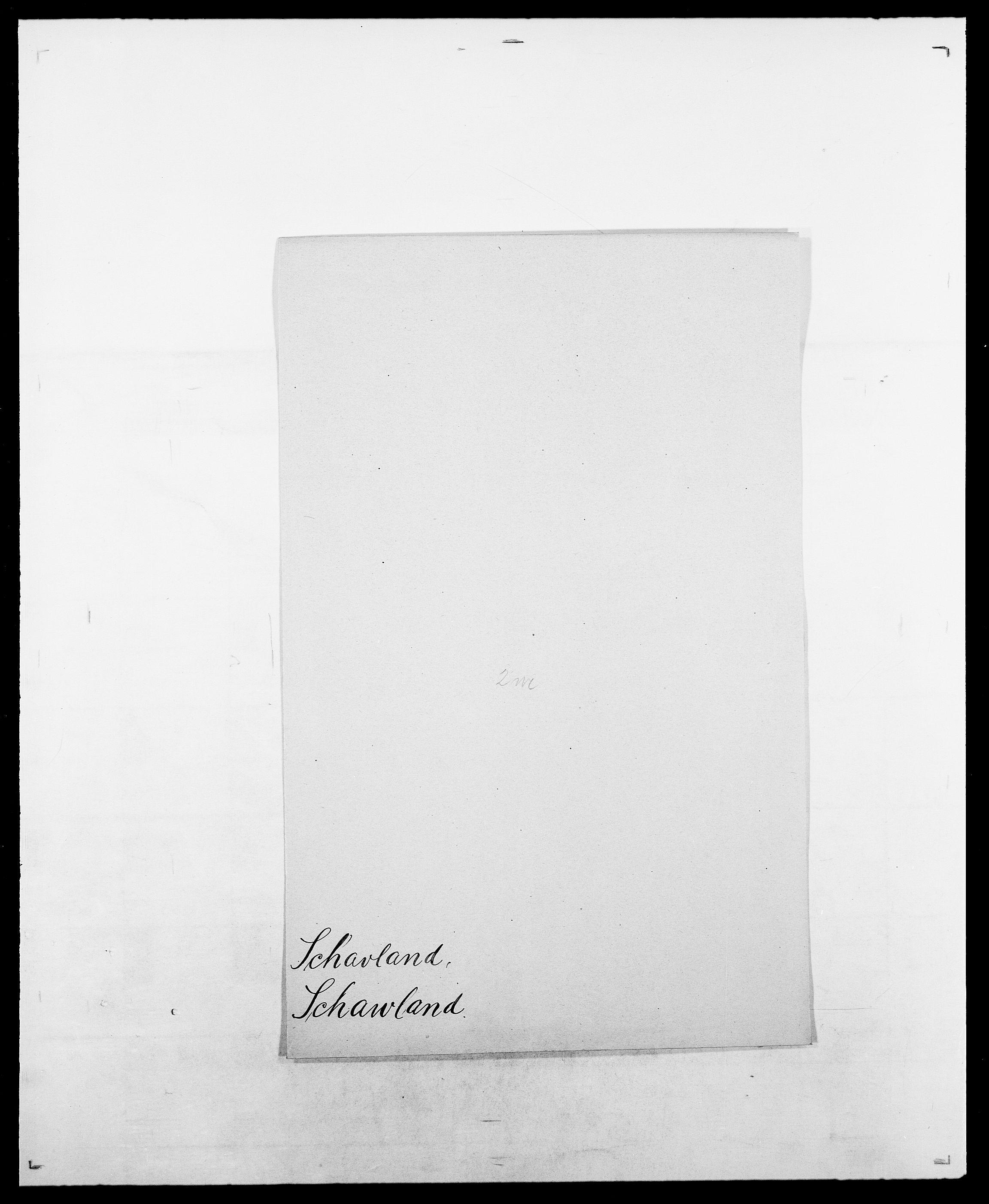 SAO, Delgobe, Charles Antoine - samling, D/Da/L0034: Saabye - Schmincke, s. 420