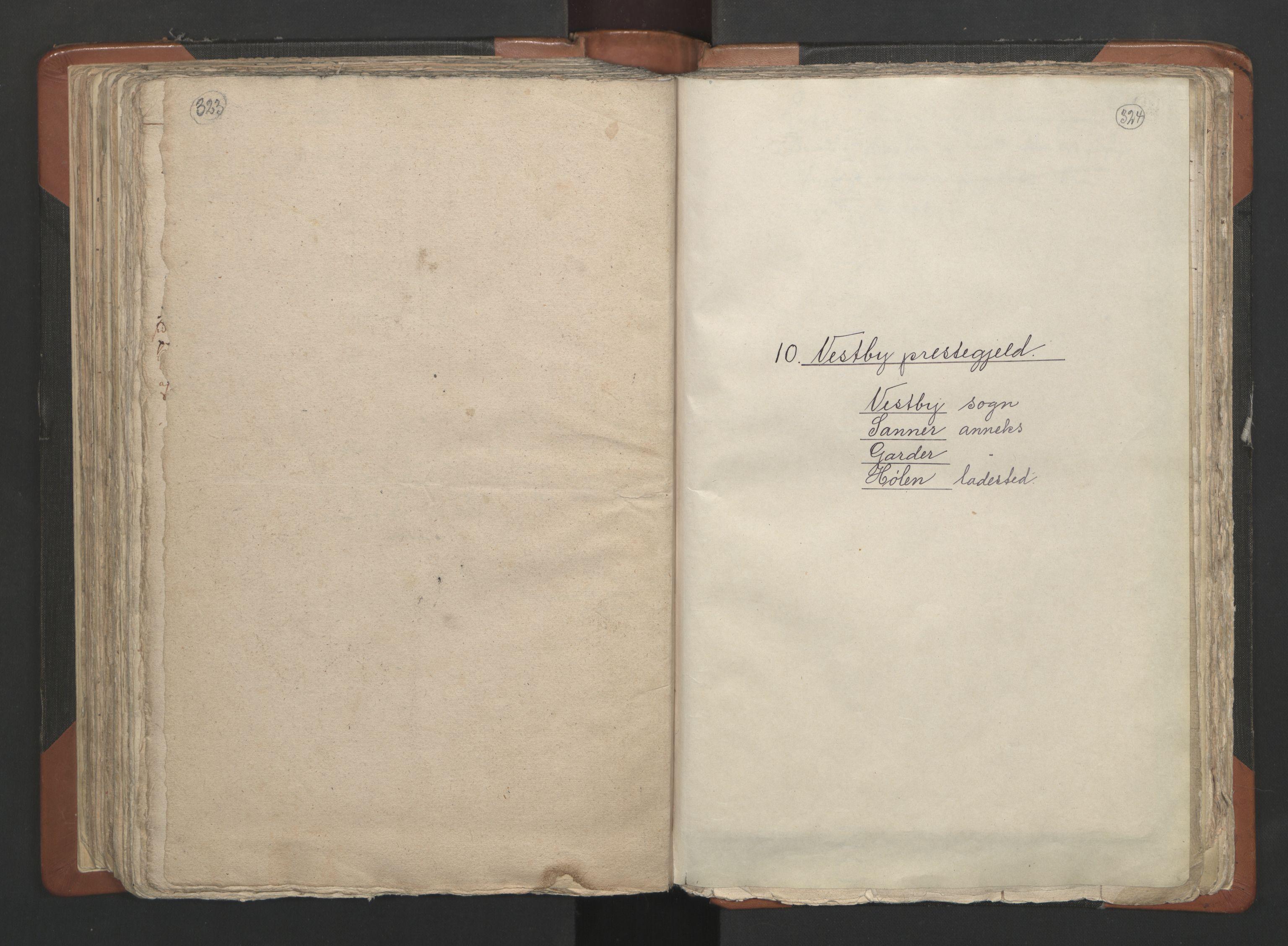 RA, Sogneprestenes manntall 1664-1666, nr. 2: Øvre Borgesyssel prosti, 1664-1666, s. 323-324
