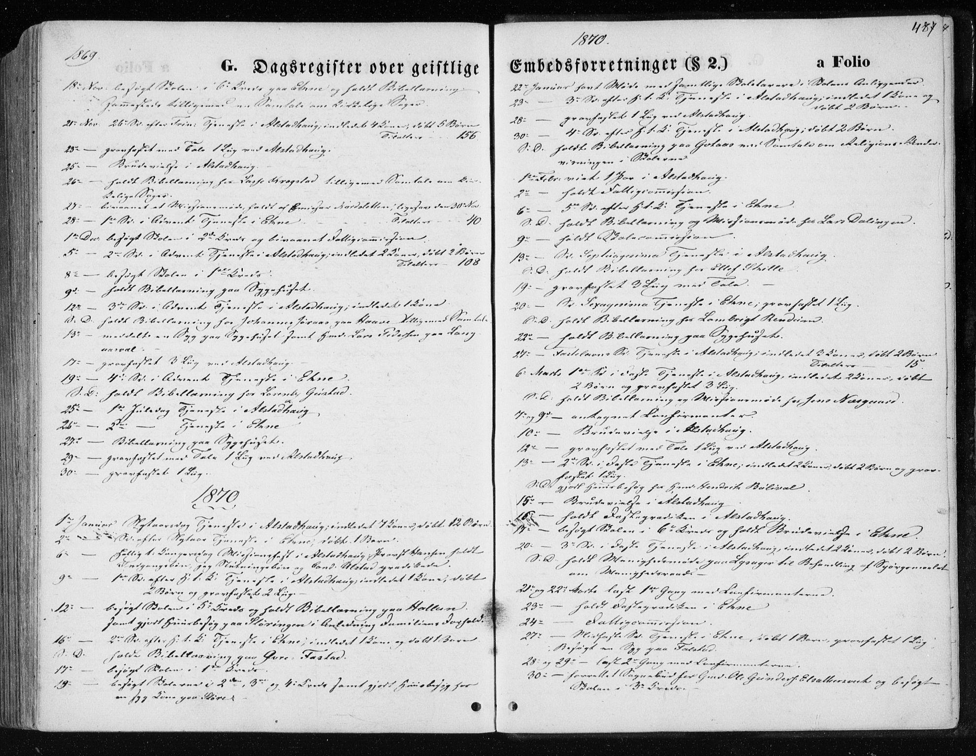 SAT, Ministerialprotokoller, klokkerbøker og fødselsregistre - Nord-Trøndelag, 717/L0157: Ministerialbok nr. 717A08 /1, 1863-1877, s. 487