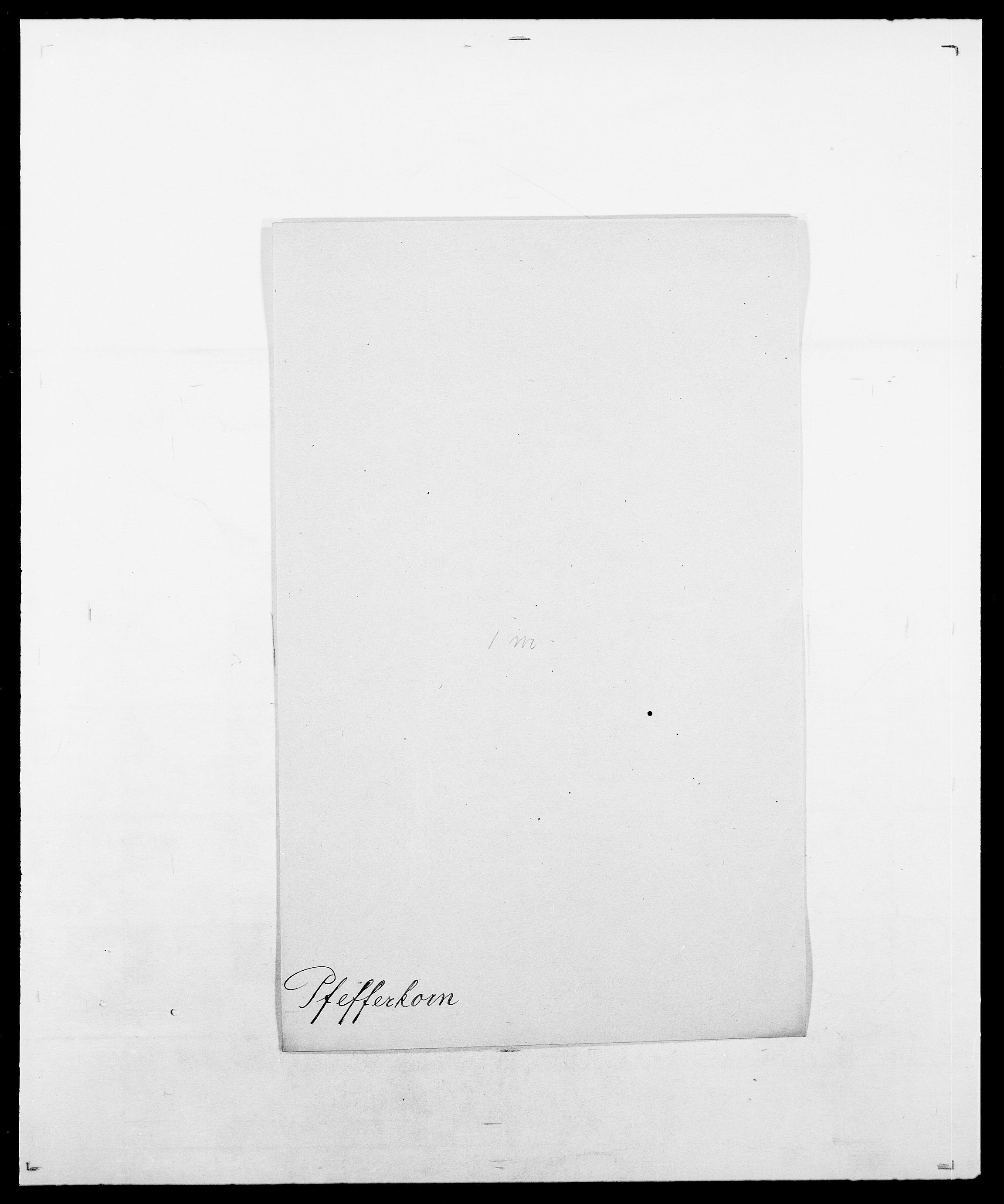 SAO, Delgobe, Charles Antoine - samling, D/Da/L0030: Paars - Pittelkov, s. 497
