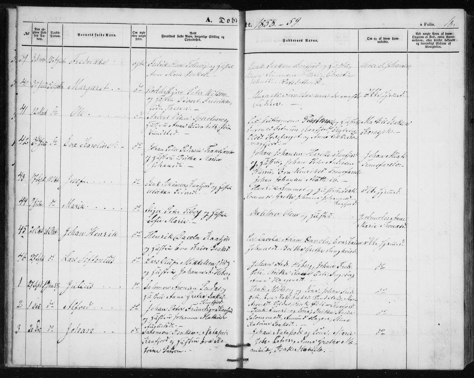 SATØ, Alta sokneprestembete, Klokkerbok nr. 2, 1856-1880, s. 18