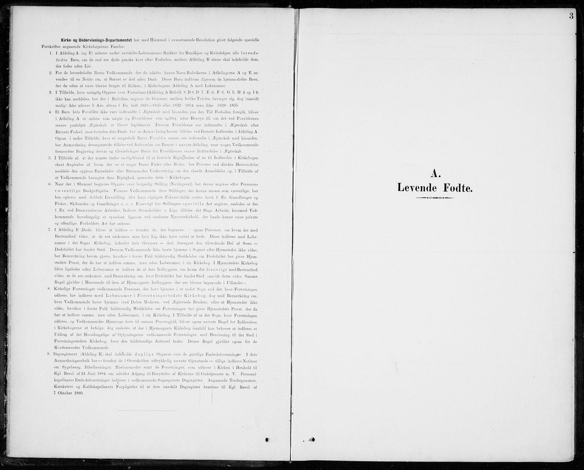 SAKO, Sigdal kirkebøker, F/Fc/L0002: Ministerialbok nr. III 2, 1894-1911, s. 3