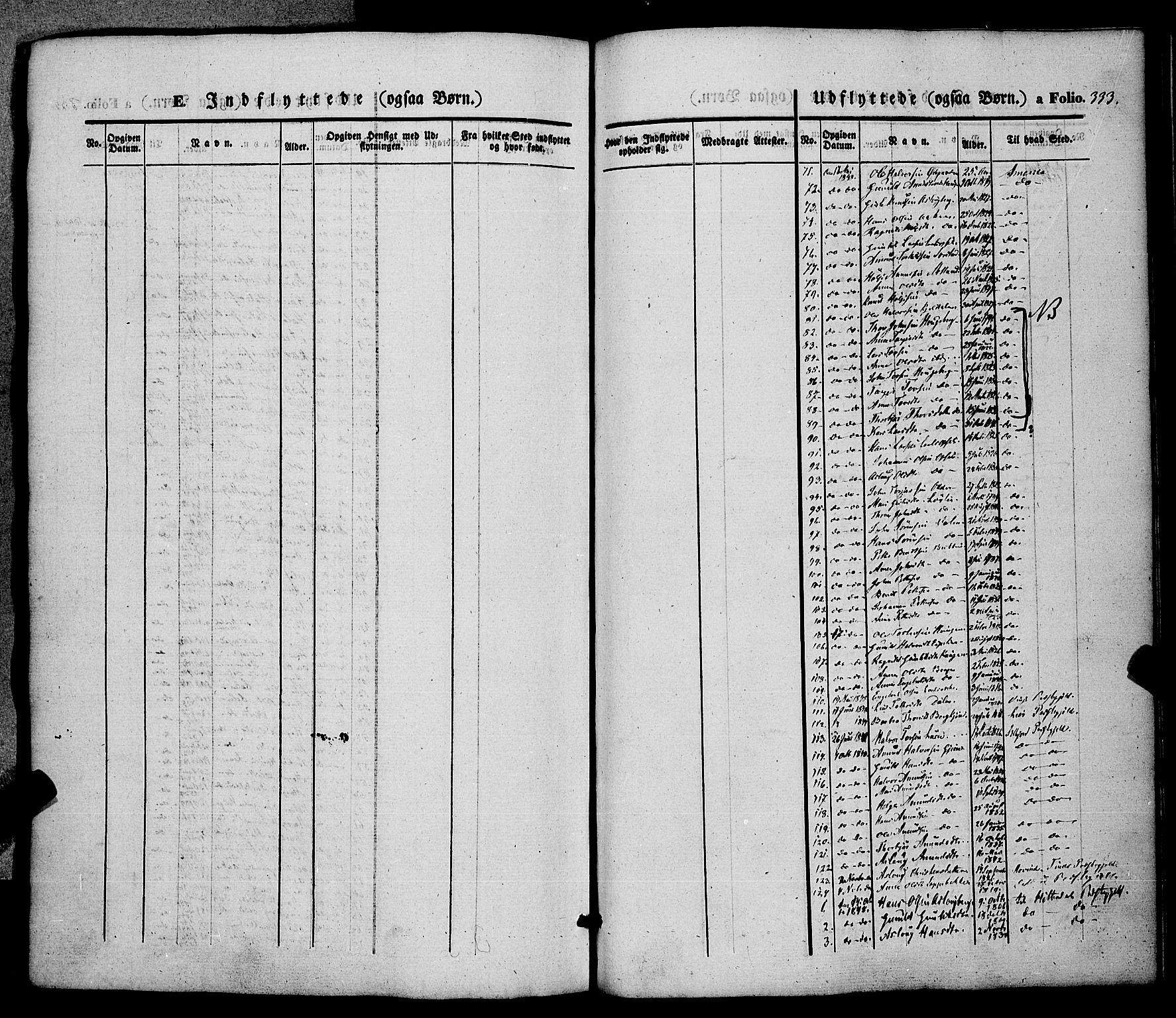 SAKO, Hjartdal kirkebøker, F/Fa/L0008: Ministerialbok nr. I 8, 1844-1859, s. 333