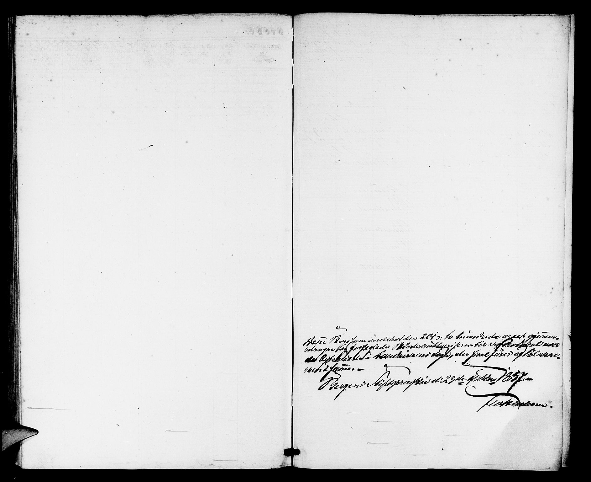 SAB, Domkirken Sokneprestembete, H/Hab/L0030: Klokkerbok nr. D 2, 1857-1876