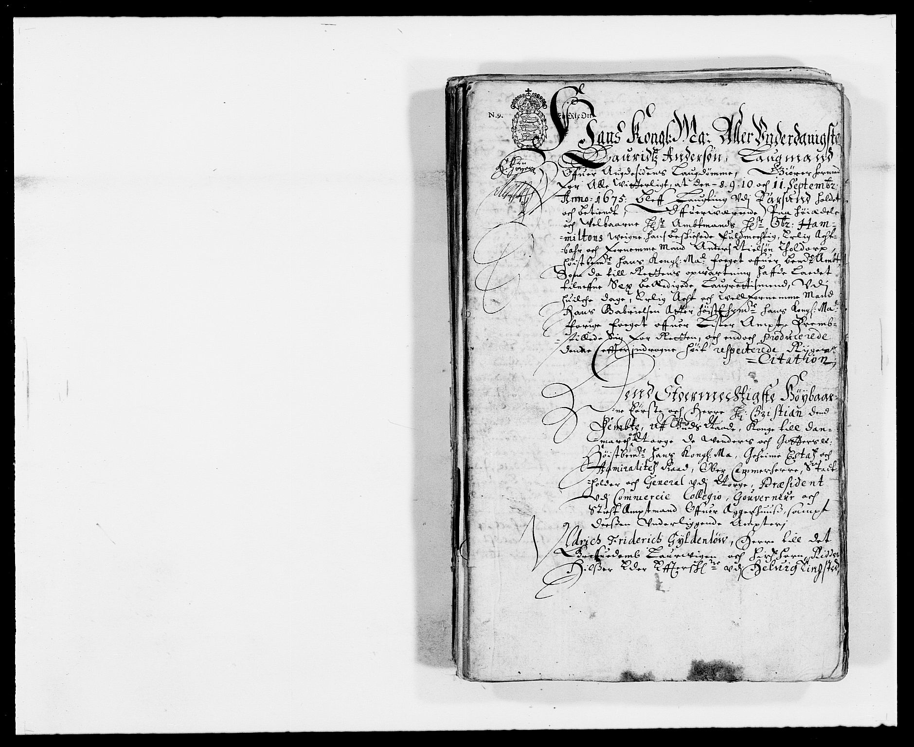 RA, Rentekammeret inntil 1814, Reviderte regnskaper, Fogderegnskap, R41/L2527: Fogderegnskap Lista, 1672, s. 3