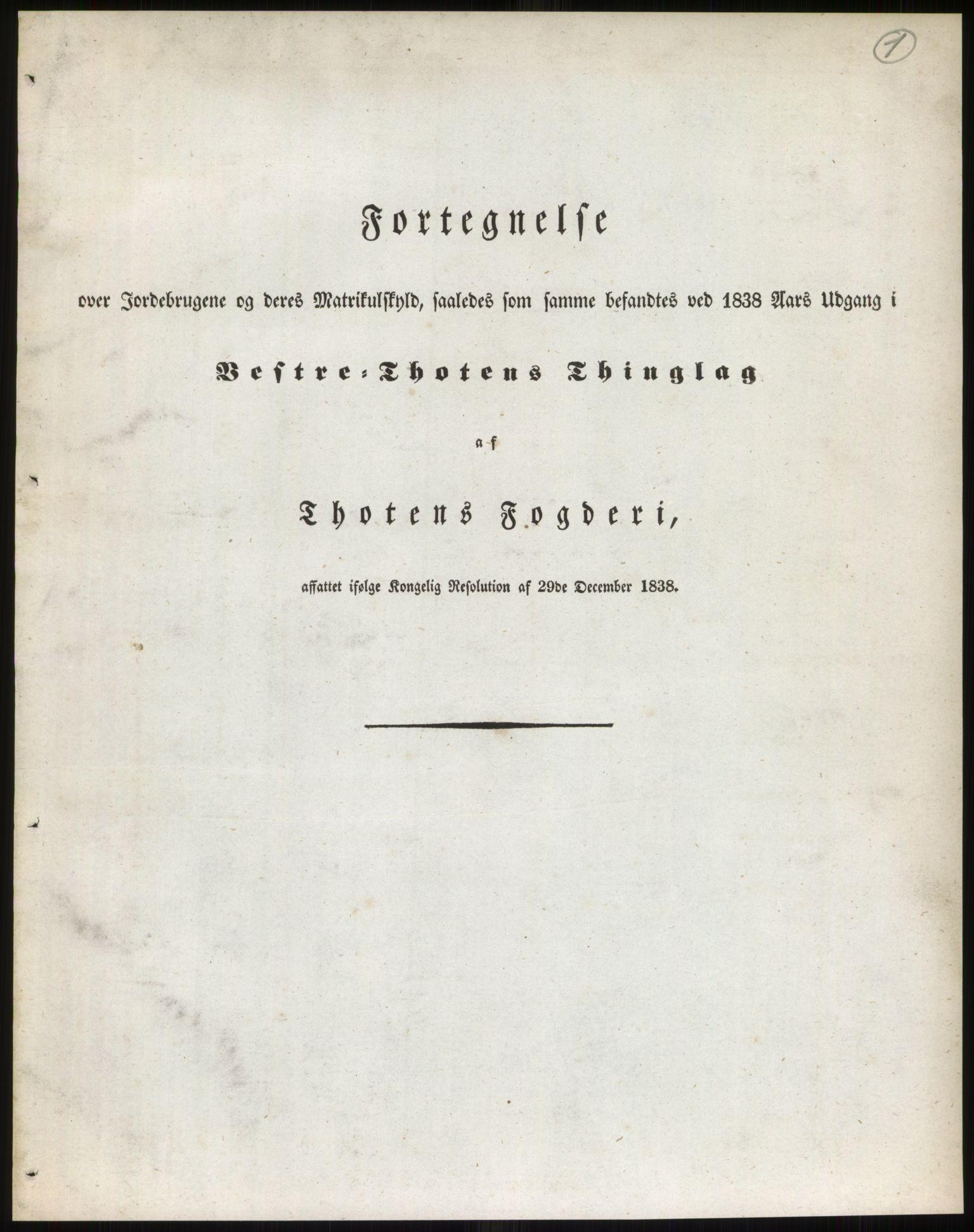 PUBL, Andre publikasjoner, -/Bind 4: Christians amt, 1838, s. 2