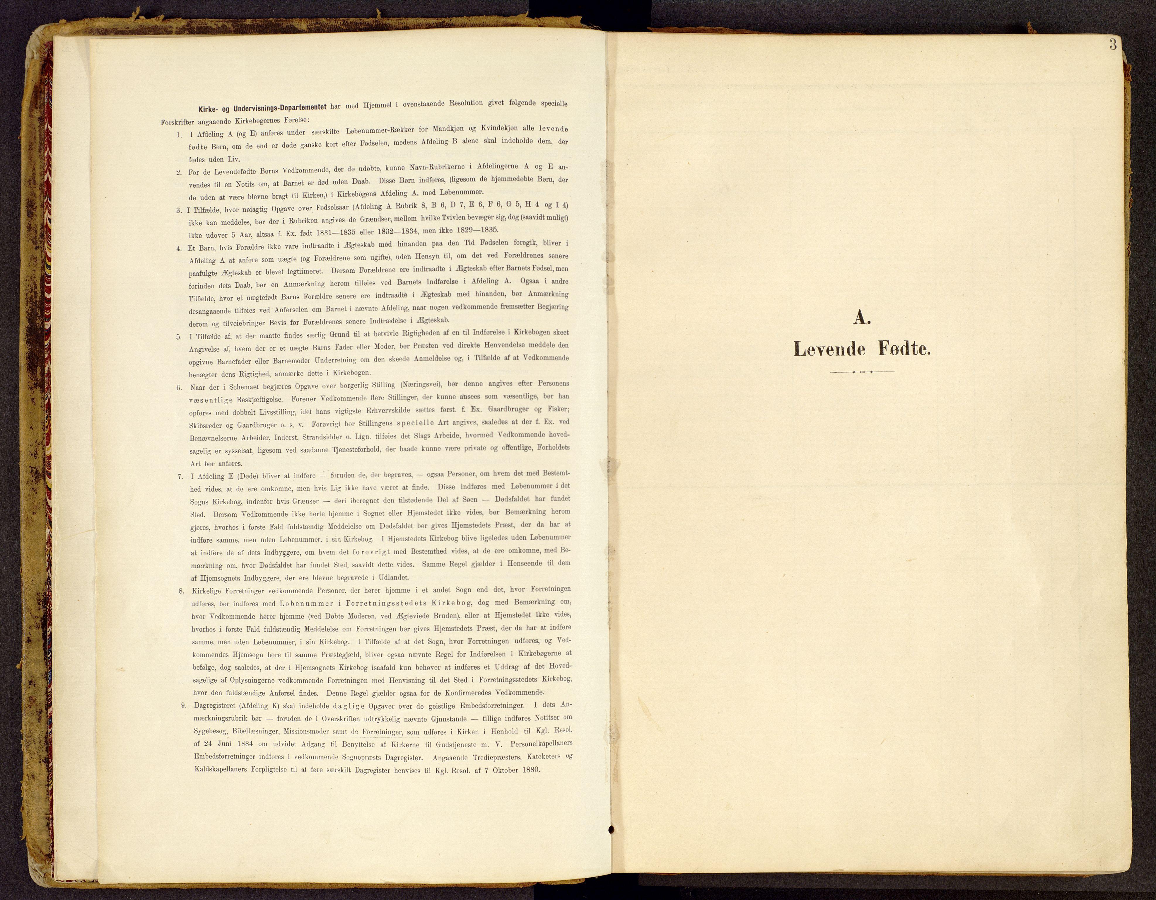 SAH, Brandbu prestekontor, Ministerialbok nr. 2, 1899-1914, s. 3