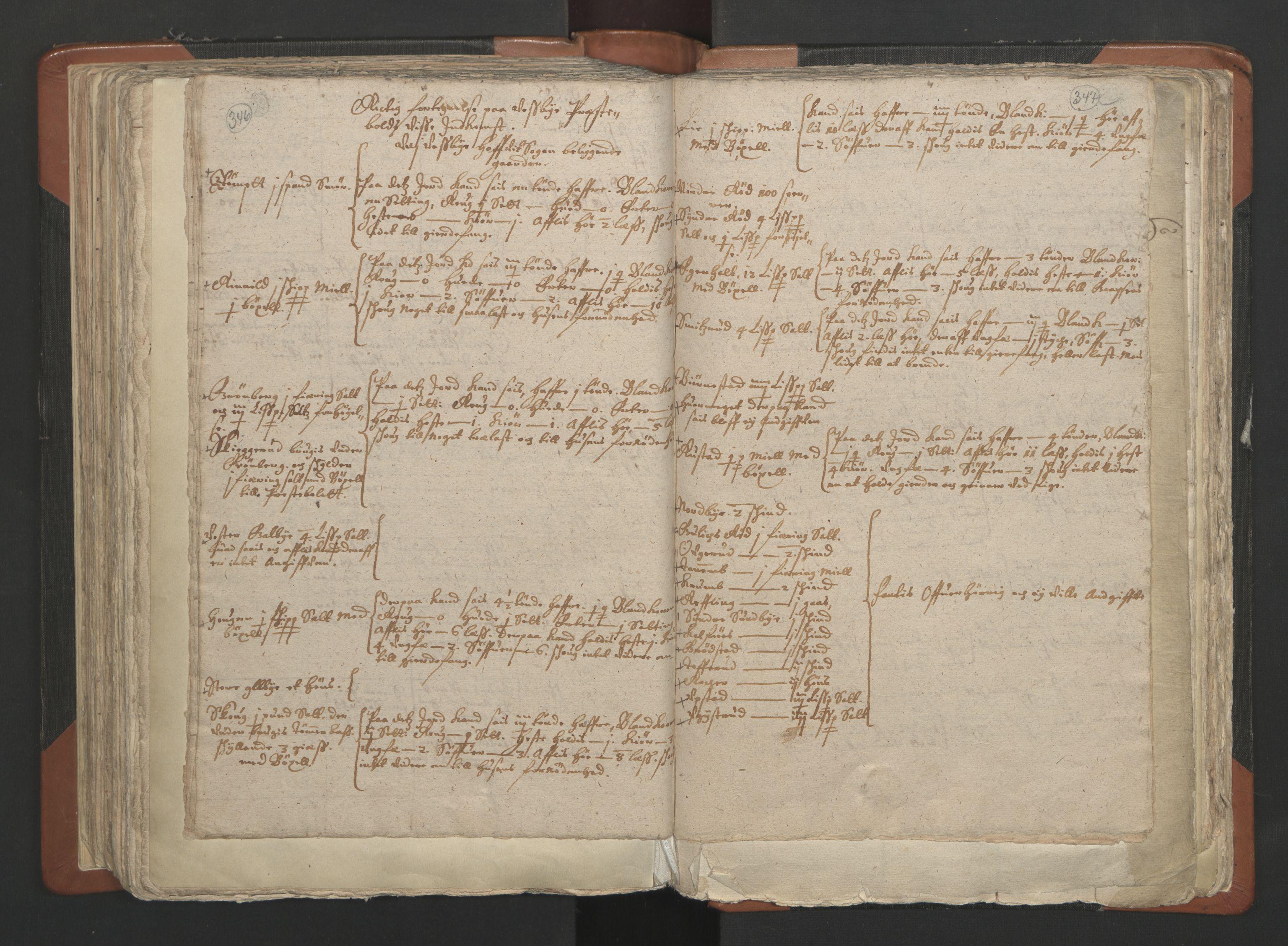 RA, Sogneprestenes manntall 1664-1666, nr. 2: Øvre Borgesyssel prosti, 1664-1666, s. 346-347