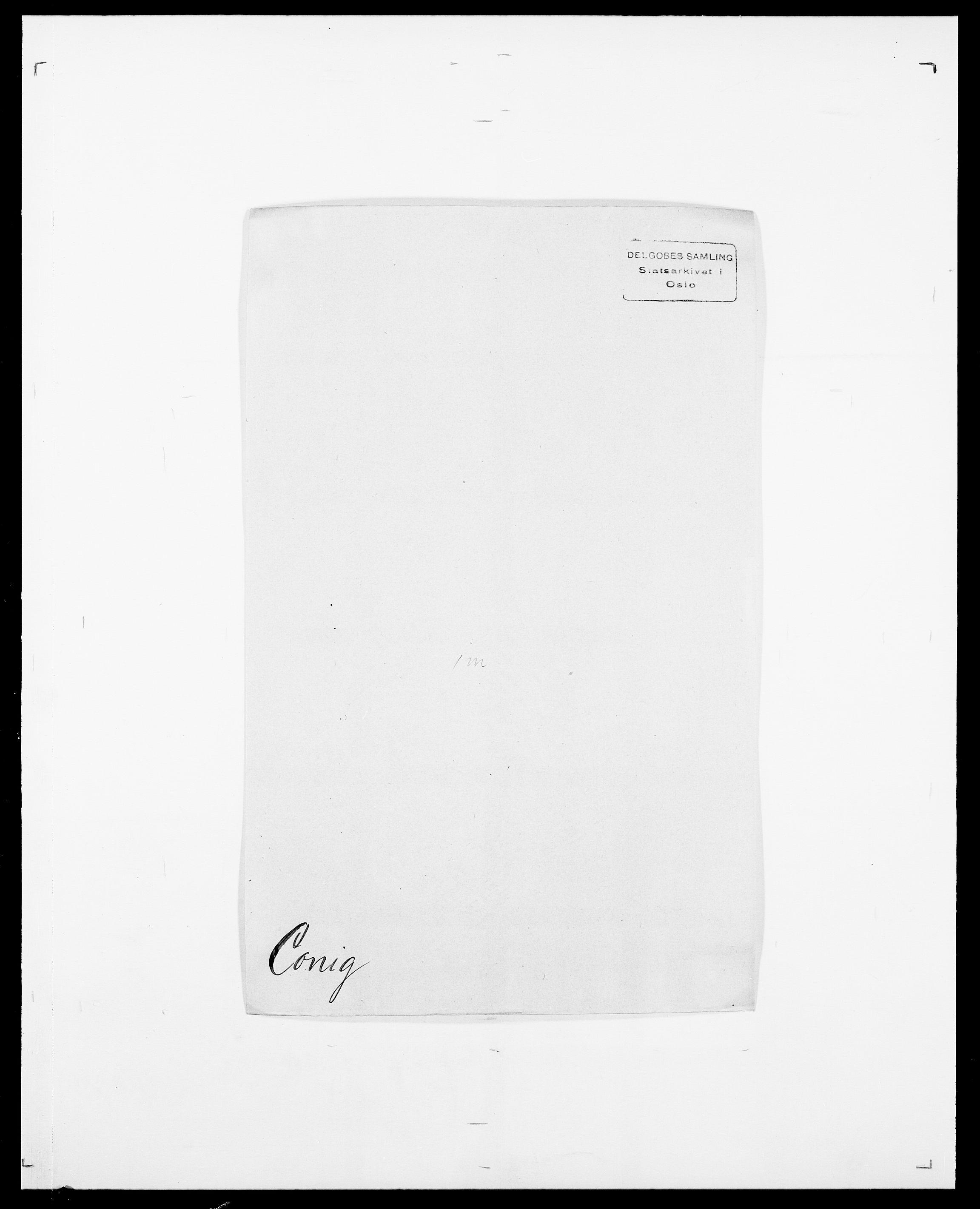 SAO, Delgobe, Charles Antoine - samling, D/Da/L0008: Capjon - Dagenbolt, s. 505