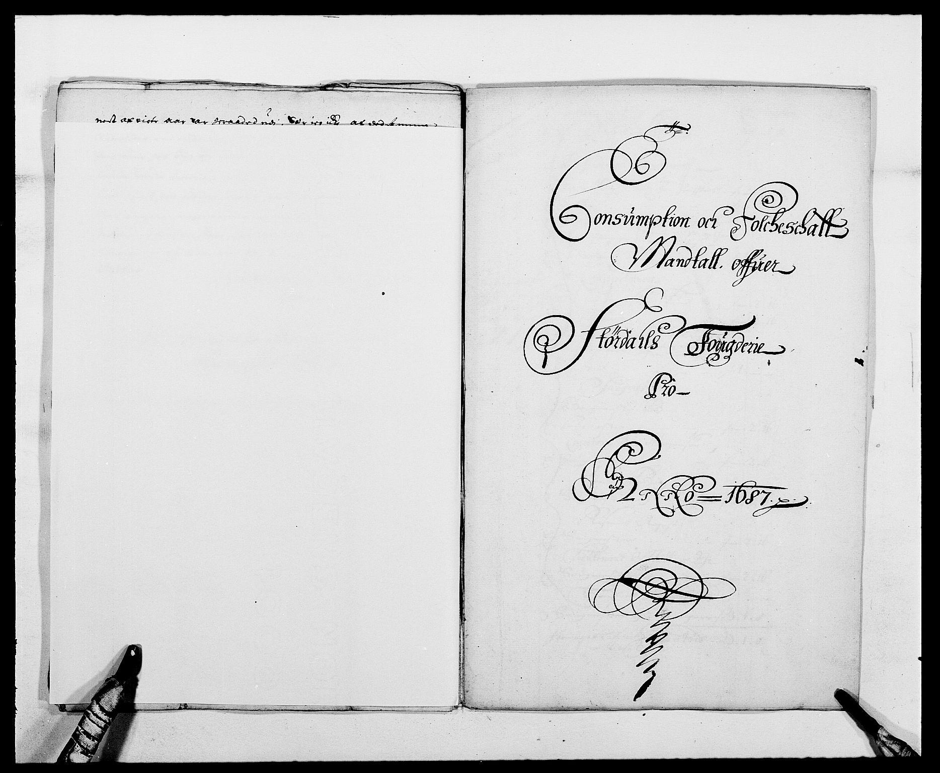 RA, Rentekammeret inntil 1814, Reviderte regnskaper, Fogderegnskap, R62/L4183: Fogderegnskap Stjørdal og Verdal, 1687-1689, s. 157