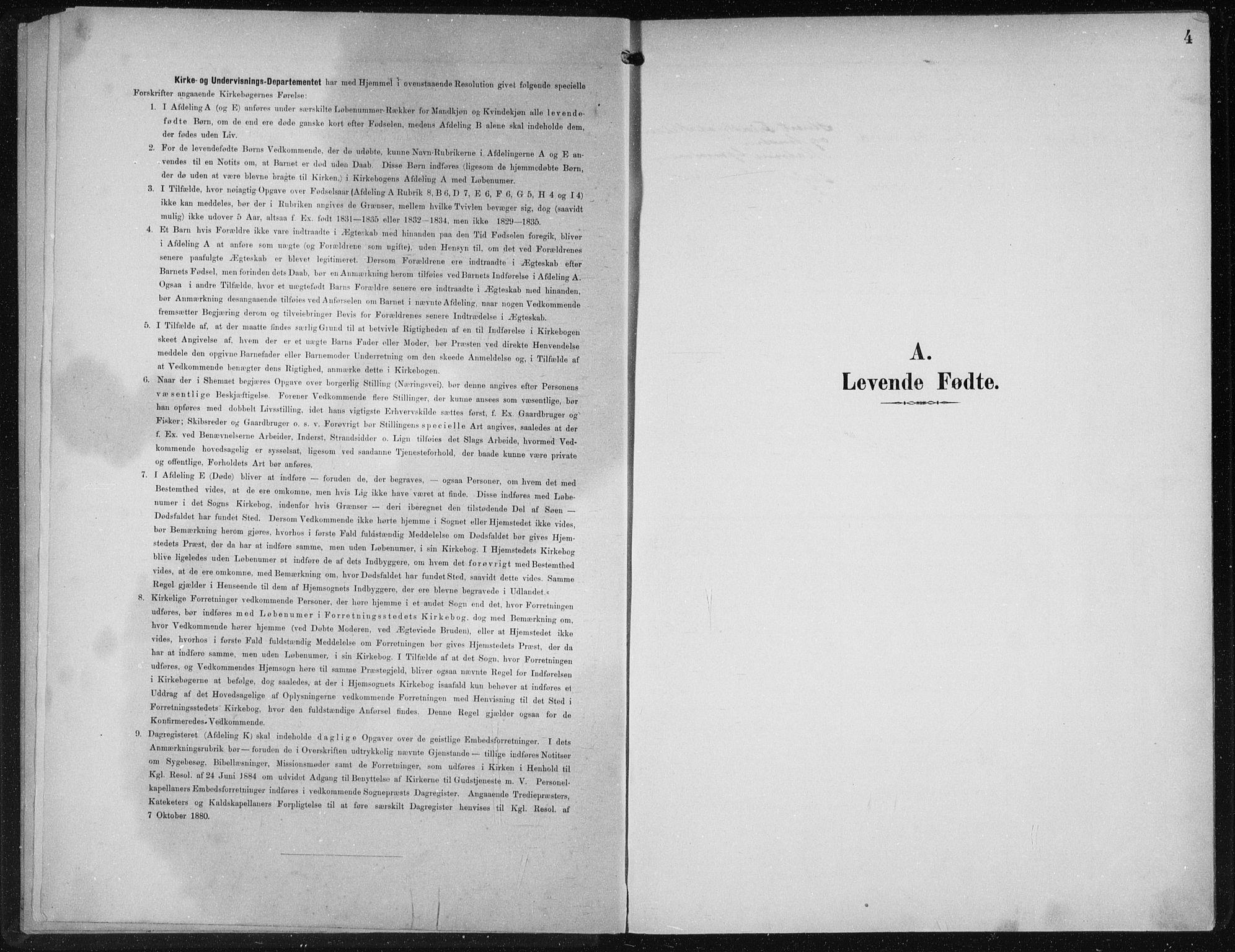 SAB, Privatarkiv 110 - Den norske sjømannsmisjon i utlandet/New York, H/Ha/L0004: Ministerialbok nr. A 4, 1893-1901, s. 4