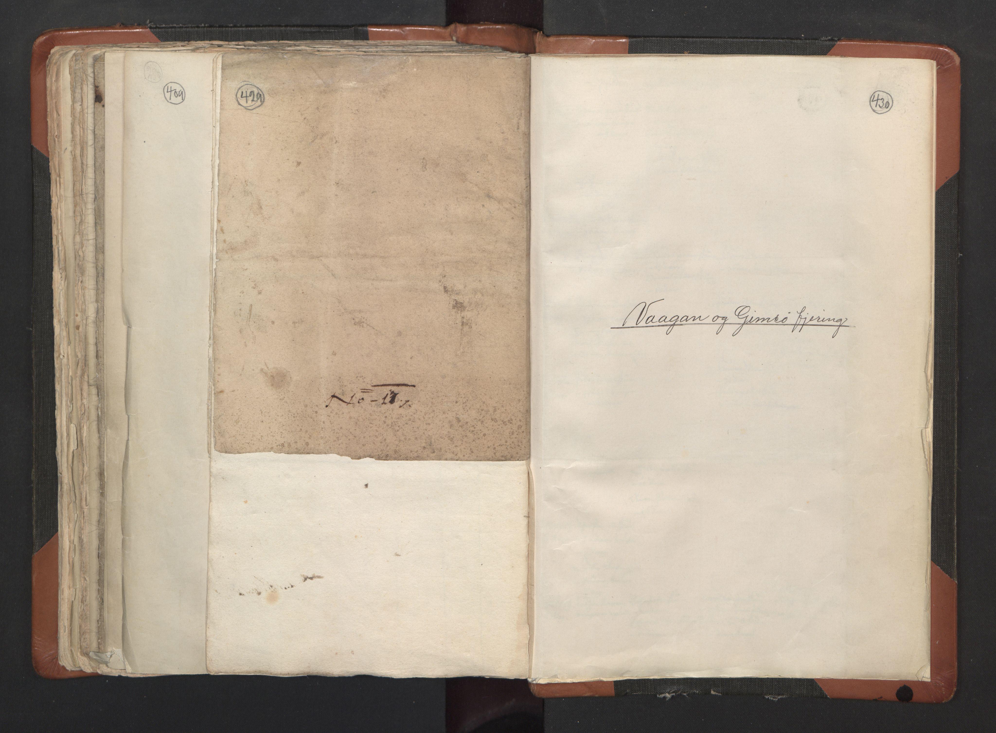 RA, Sogneprestenes manntall 1664-1666, nr. 35: Helgeland prosti og Salten prosti, 1664-1666, s. 429-430