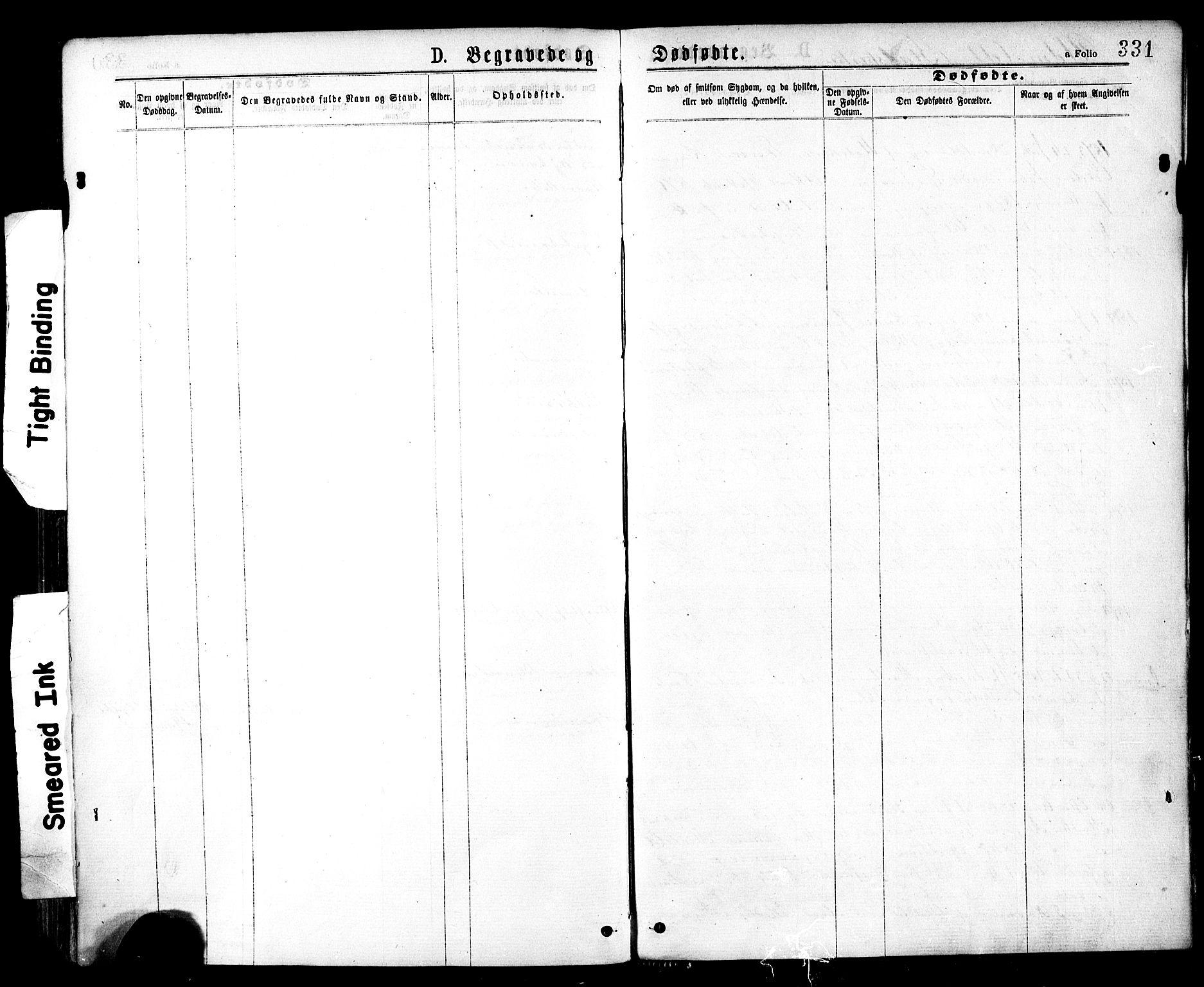SAT, Ministerialprotokoller, klokkerbøker og fødselsregistre - Sør-Trøndelag, 602/L0118: Ministerialbok nr. 602A16, 1873-1879, s. 331