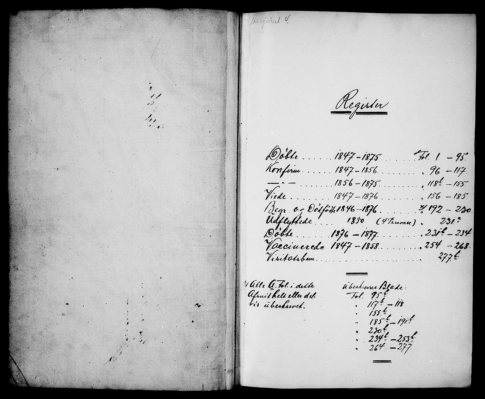 SAKO, Porsgrunn kirkebøker , G/Ga/L0002: Klokkerbok nr. I 2, 1847-1877