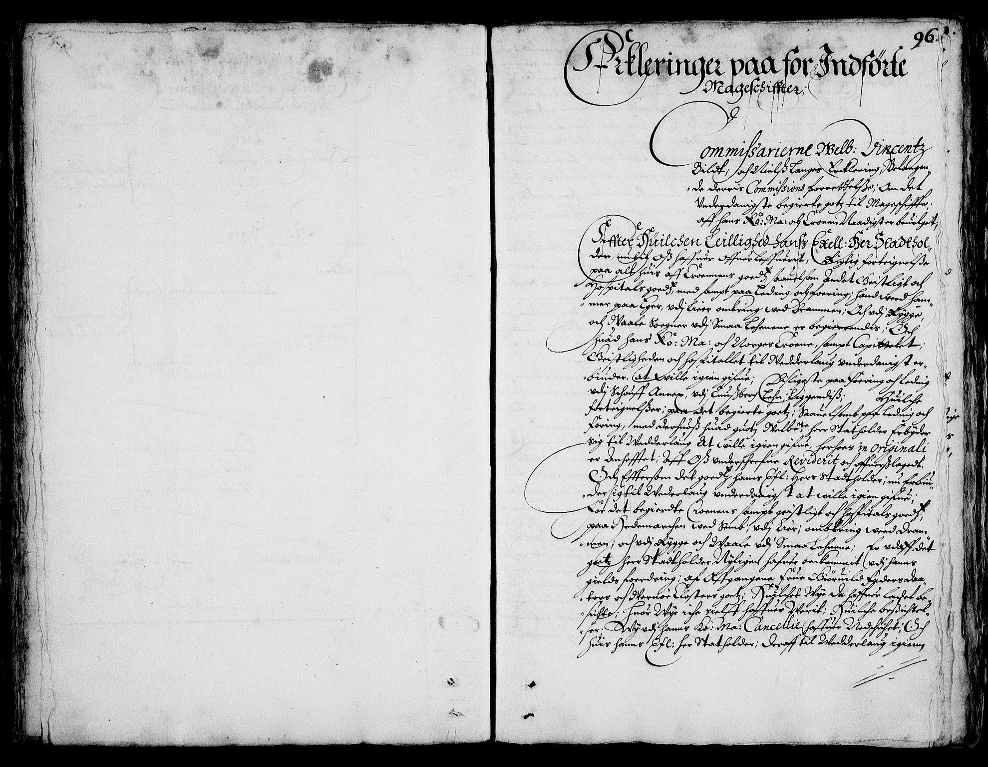 RA, Rentekammeret inntil 1814, Realistisk ordnet avdeling, On/L0001: Statens gods, 1651, s. 94b-95a