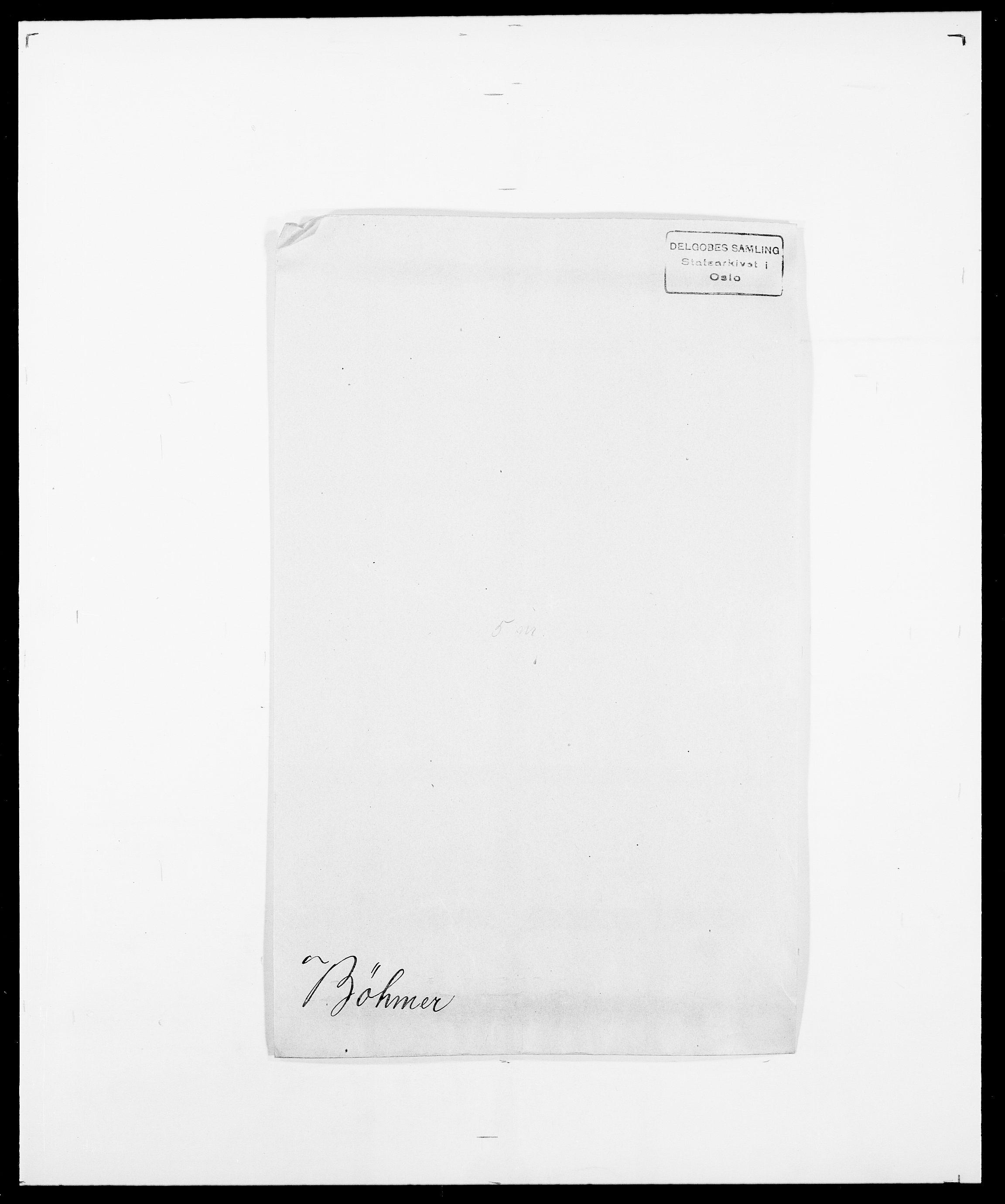 SAO, Delgobe, Charles Antoine - samling, D/Da/L0007: Buaas - Caphengst, s. 728