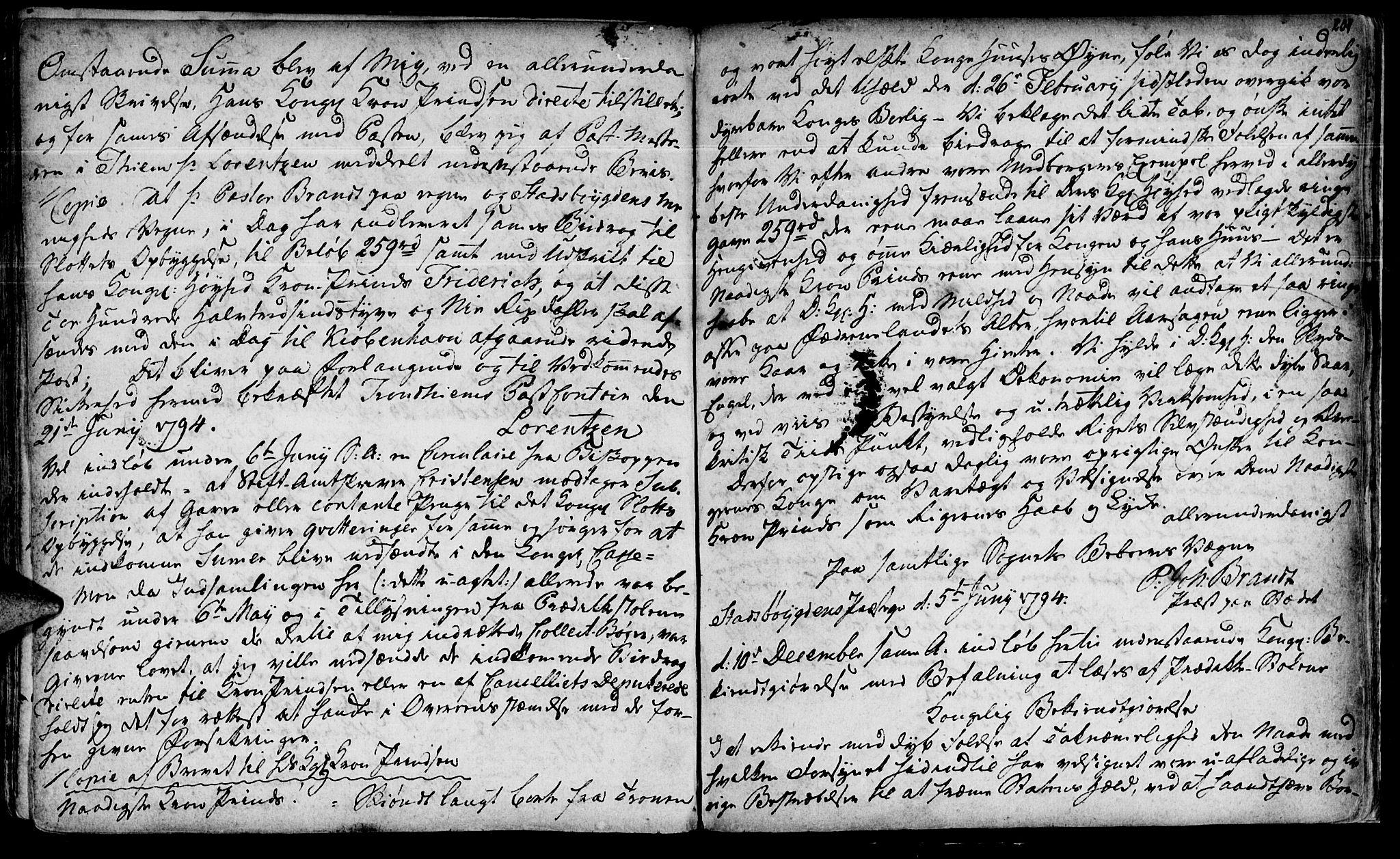 SAT, Ministerialprotokoller, klokkerbøker og fødselsregistre - Sør-Trøndelag, 646/L0604: Ministerialbok nr. 646A02, 1735-1750, s. 200-201
