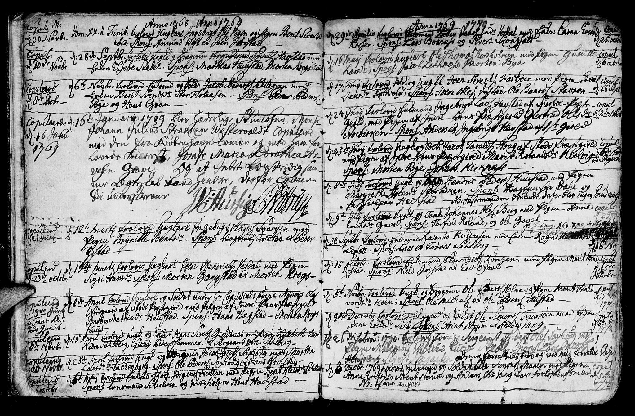 SAT, Ministerialprotokoller, klokkerbøker og fødselsregistre - Nord-Trøndelag, 730/L0273: Ministerialbok nr. 730A02, 1762-1802, s. 5