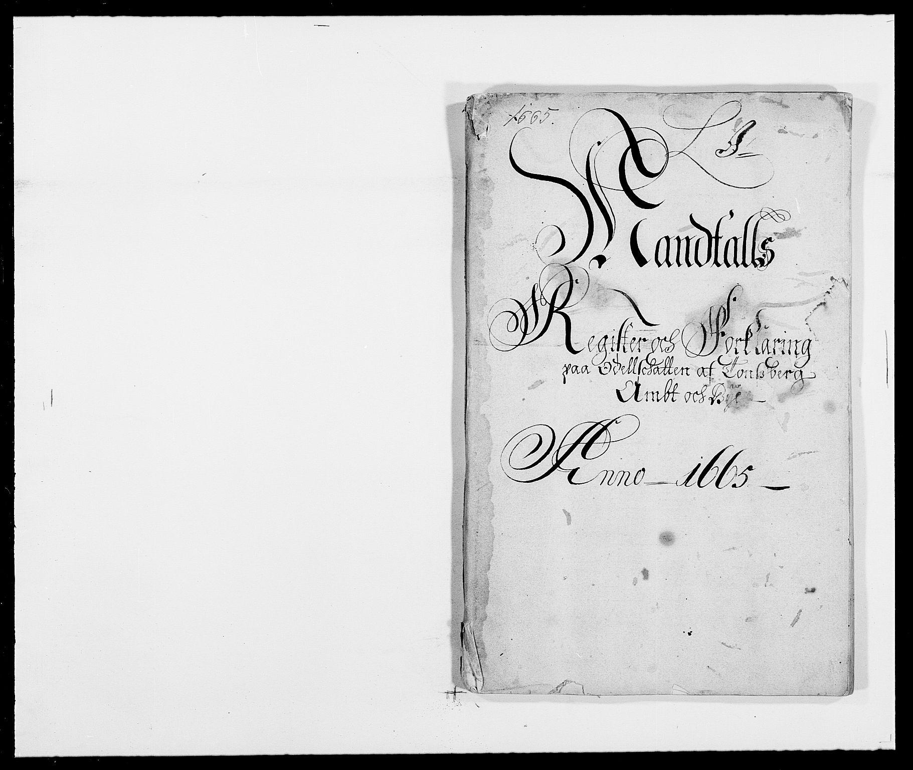 RA, Rentekammeret inntil 1814, Reviderte regnskaper, Fogderegnskap, R32/L1839: Fogderegnskap Jarlsberg grevskap, 1664-1673, s. 286