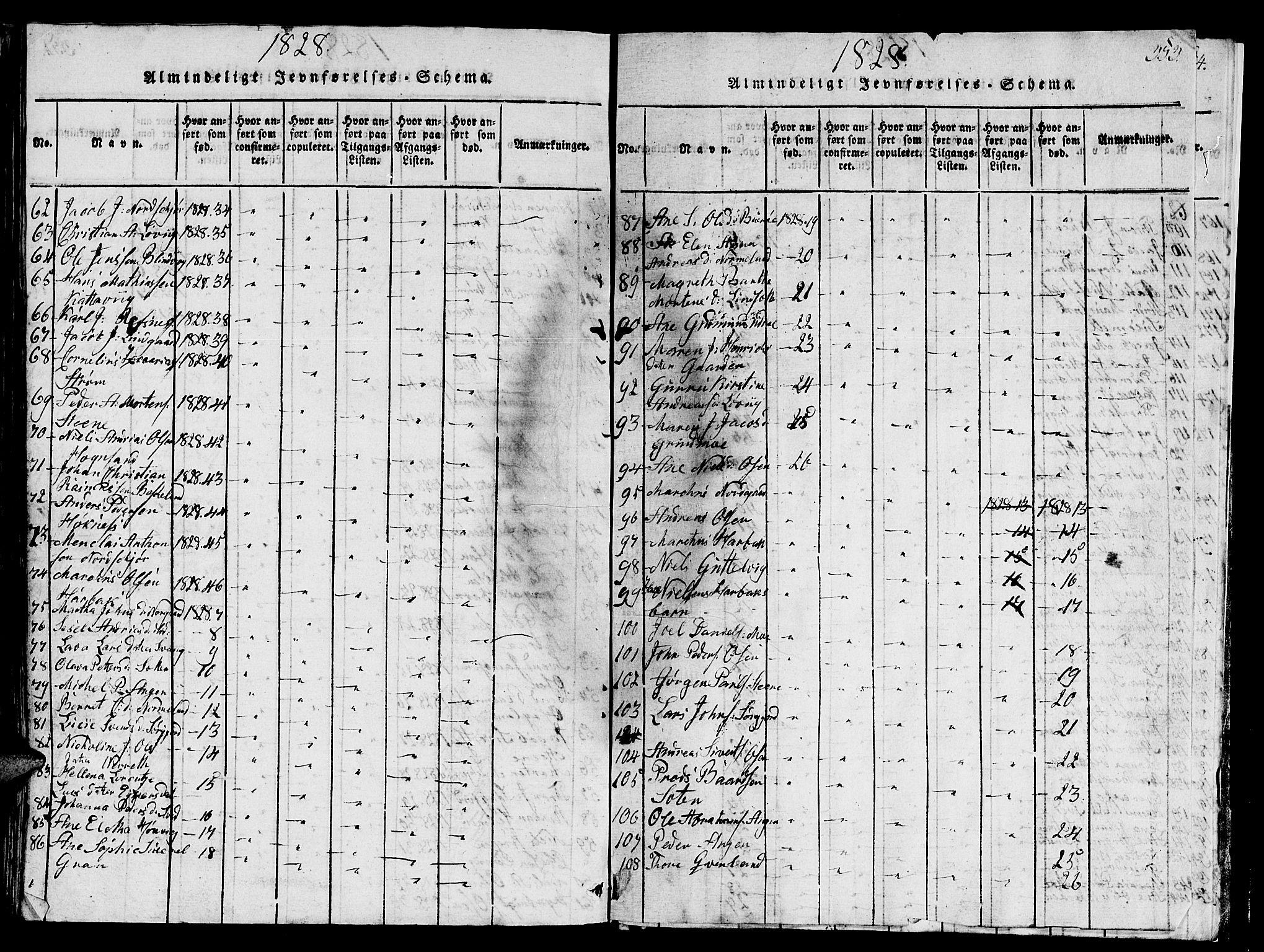 SAT, Ministerialprotokoller, klokkerbøker og fødselsregistre - Sør-Trøndelag, 657/L0714: Klokkerbok nr. 657C01, 1818-1868, s. 353