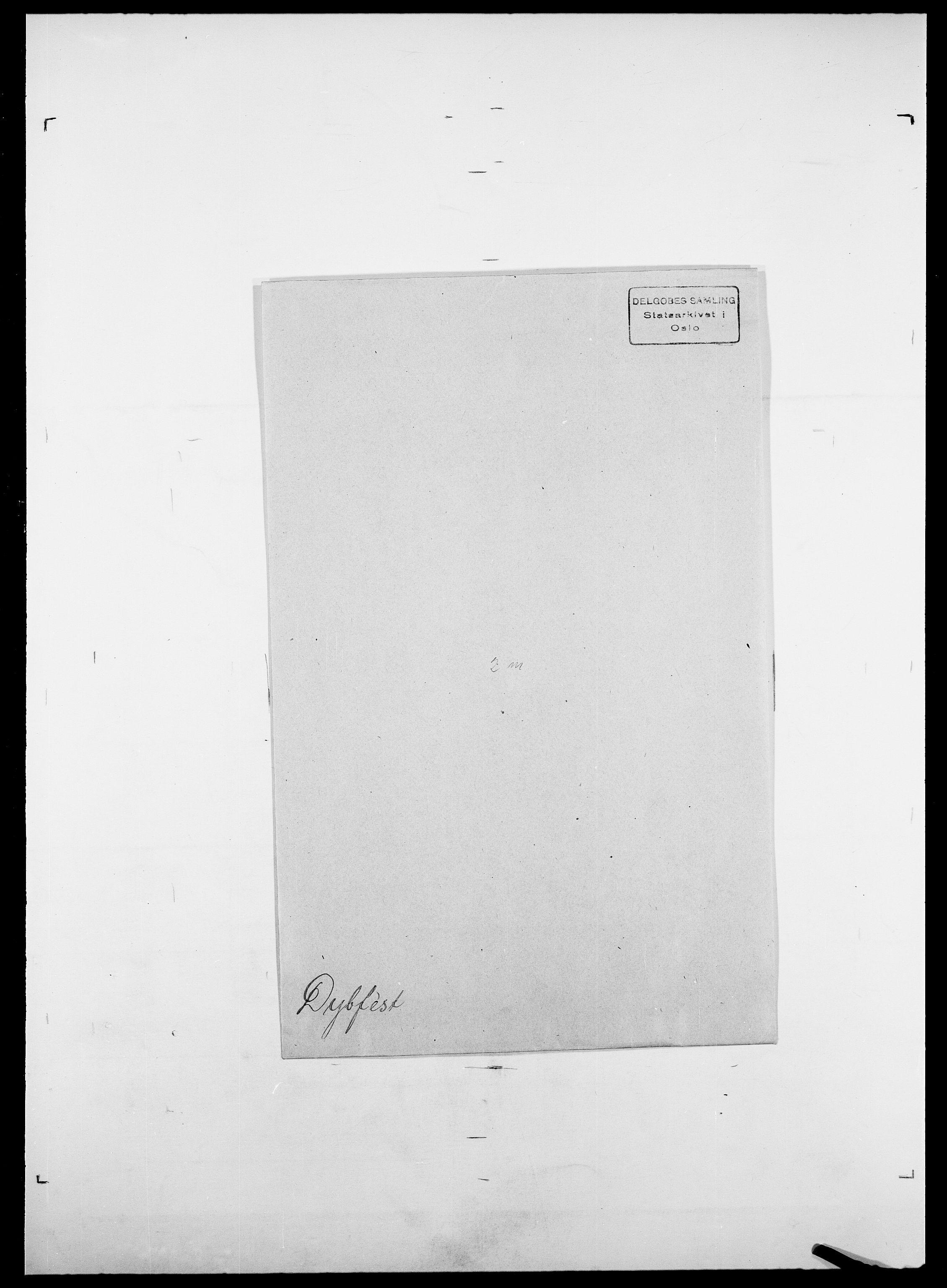 SAO, Delgobe, Charles Antoine - samling, D/Da/L0009: Dahl - v. Düren, s. 884