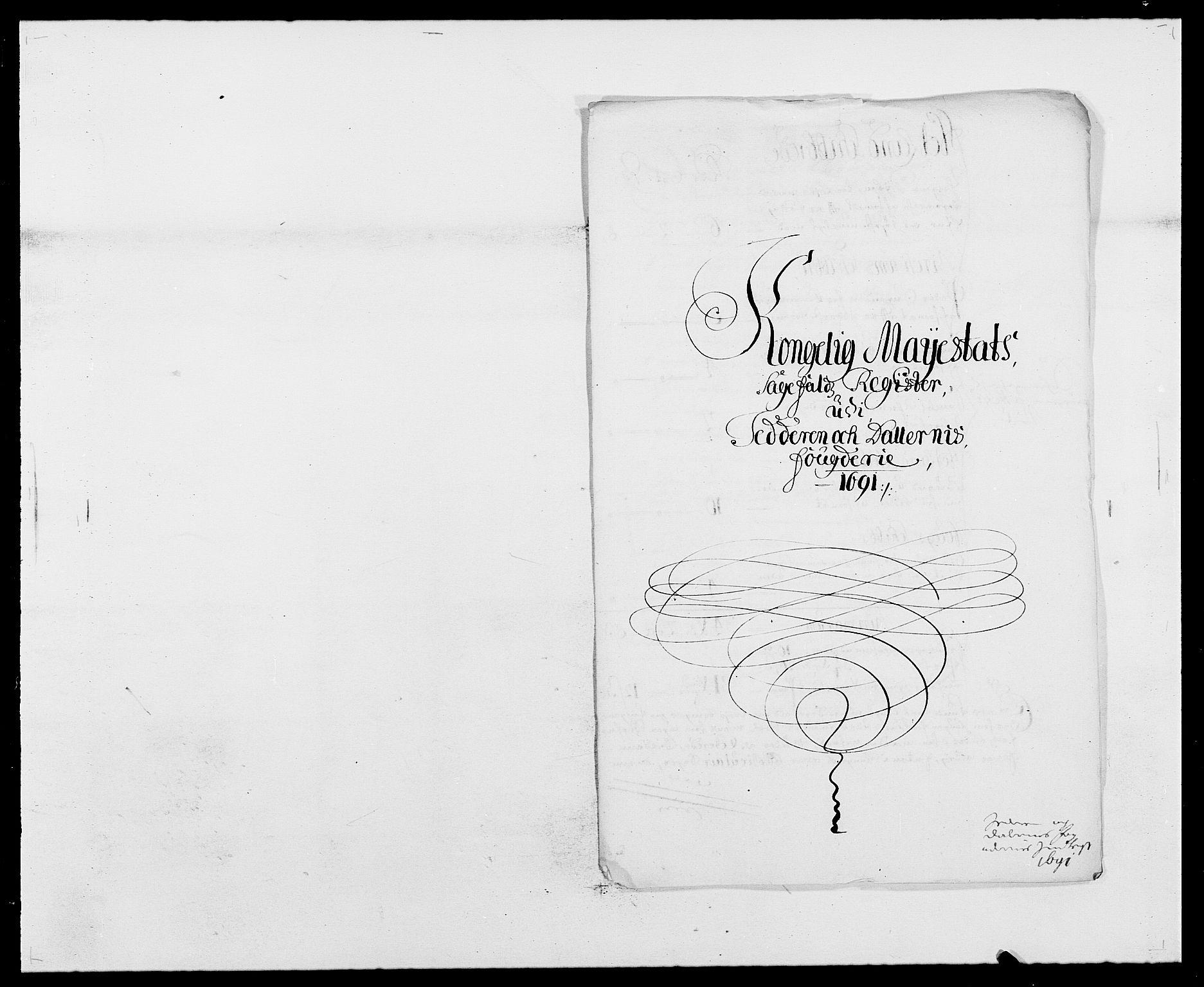 RA, Rentekammeret inntil 1814, Reviderte regnskaper, Fogderegnskap, R46/L2727: Fogderegnskap Jæren og Dalane, 1690-1693, s. 108