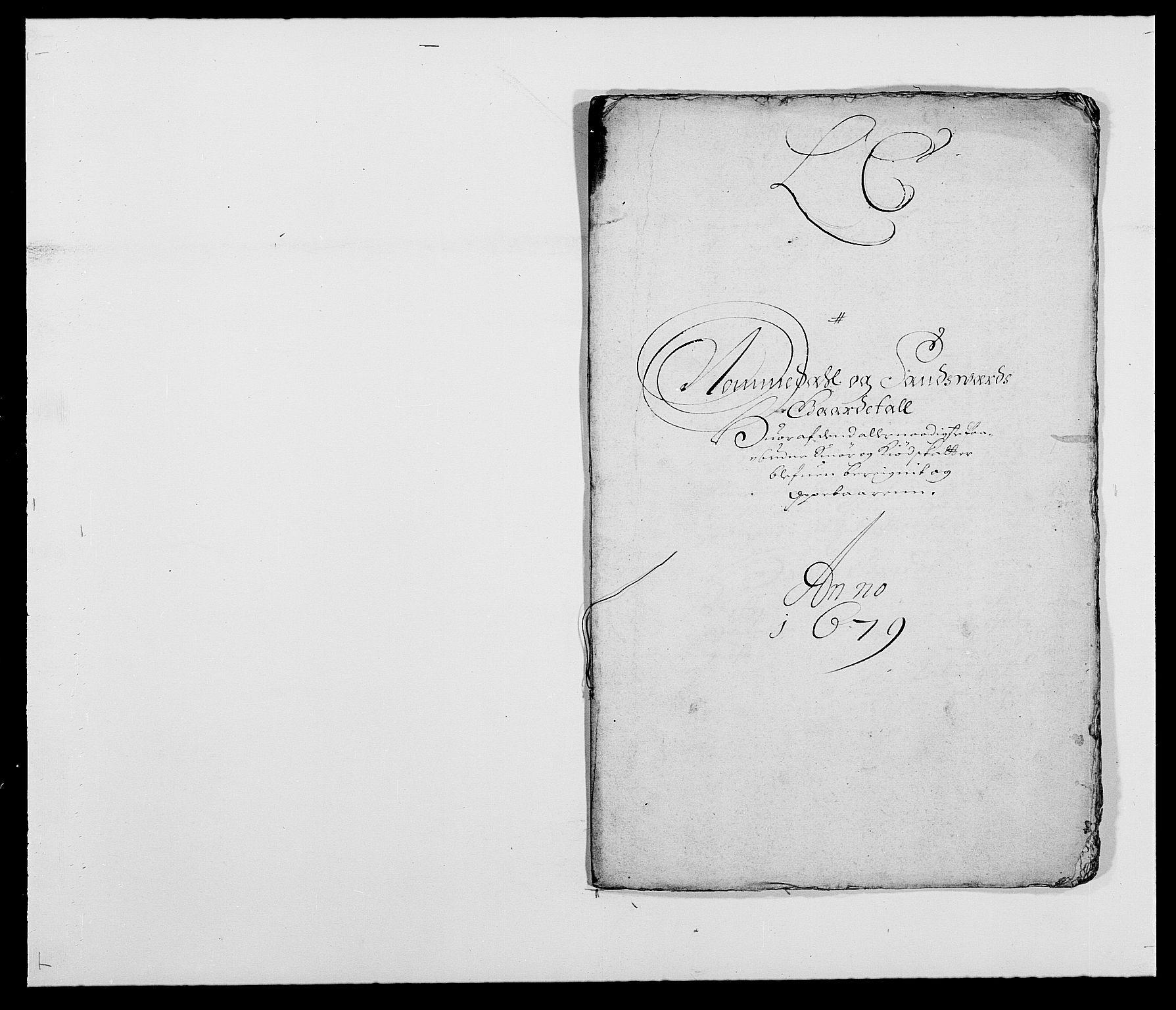 RA, Rentekammeret inntil 1814, Reviderte regnskaper, Fogderegnskap, R24/L1569: Fogderegnskap Numedal og Sandsvær, 1679-1686, s. 97