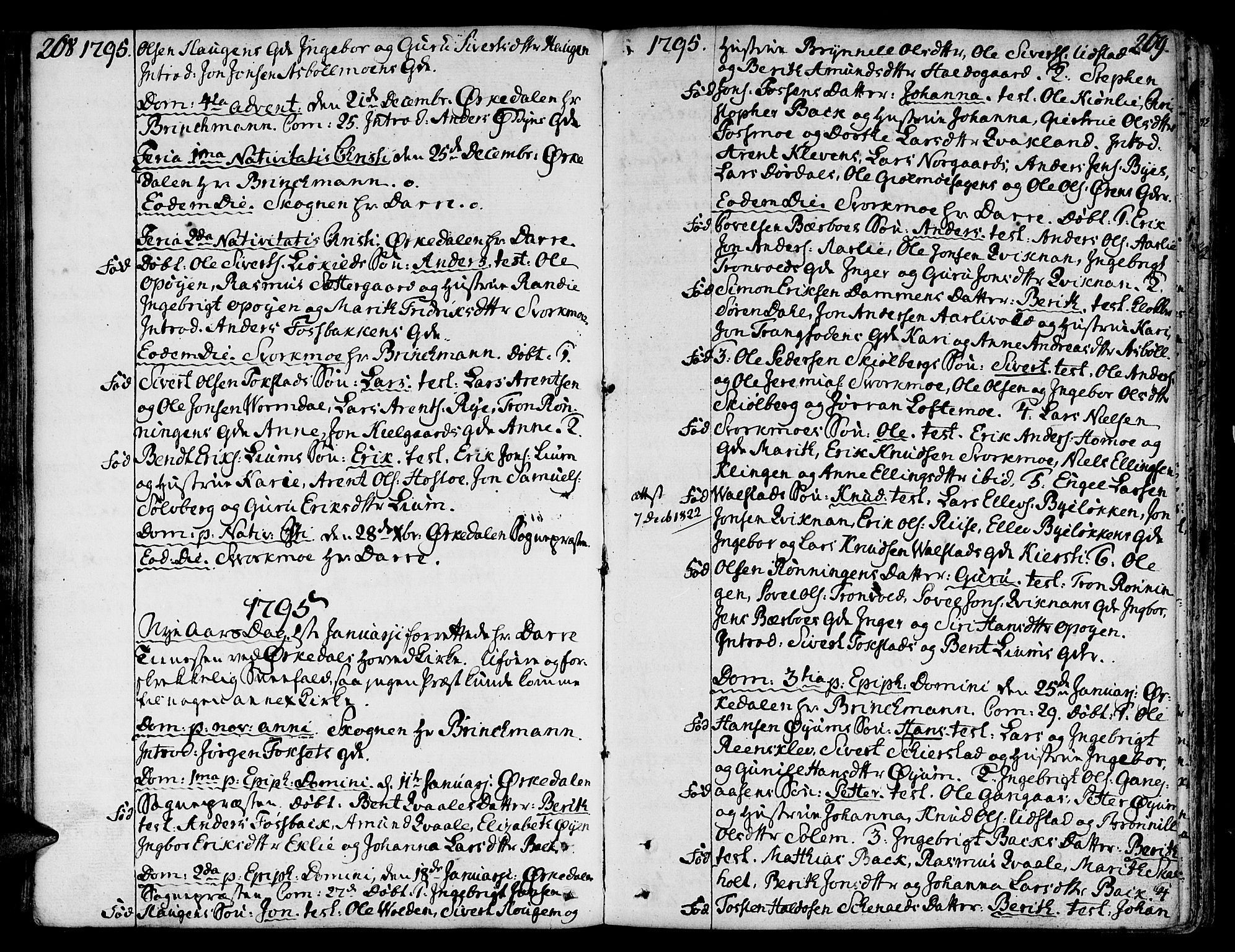 SAT, Ministerialprotokoller, klokkerbøker og fødselsregistre - Sør-Trøndelag, 668/L0802: Ministerialbok nr. 668A02, 1776-1799, s. 268-269