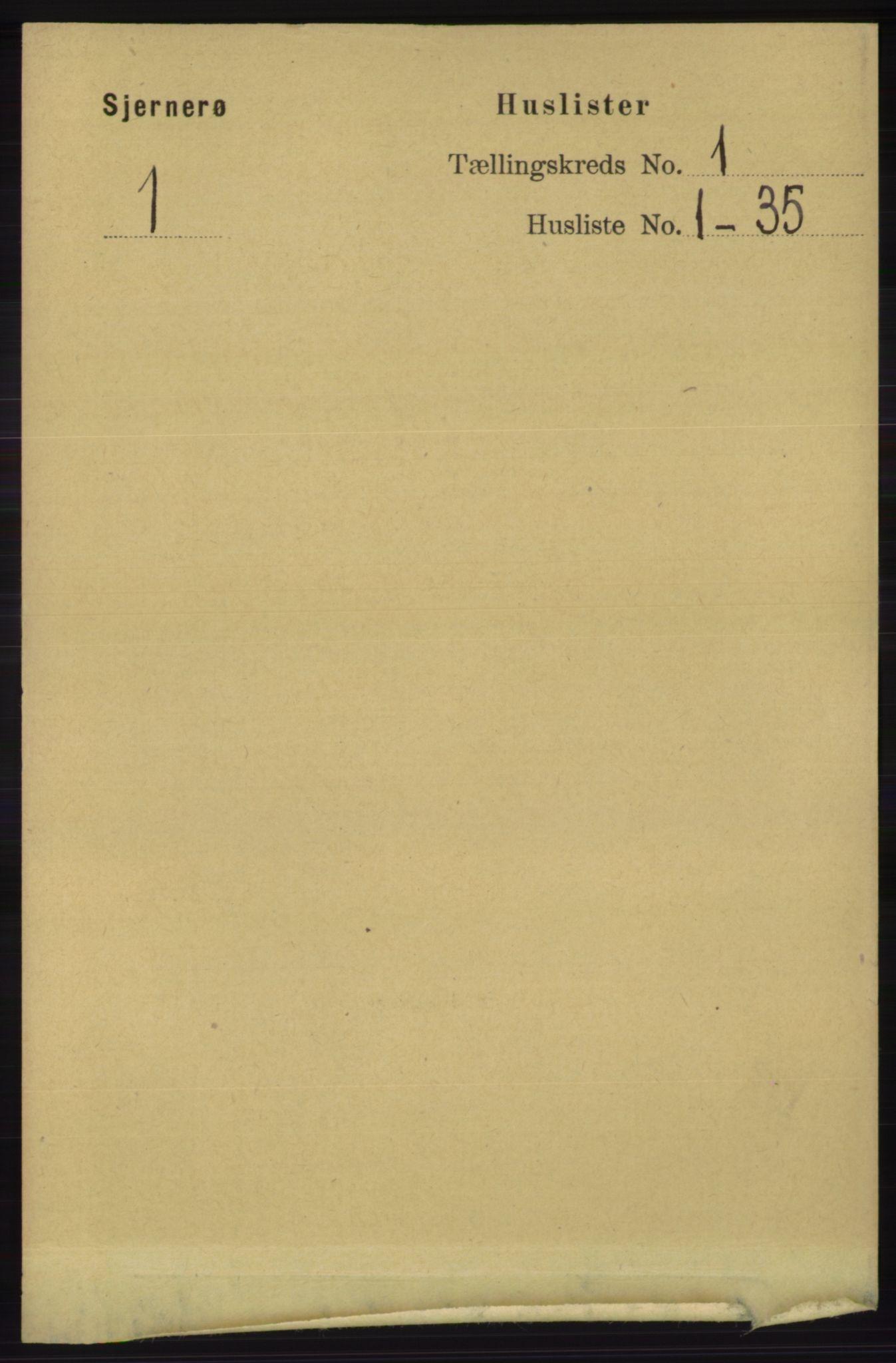 RA, Folketelling 1891 for 1140 Sjernarøy herred, 1891, s. 15