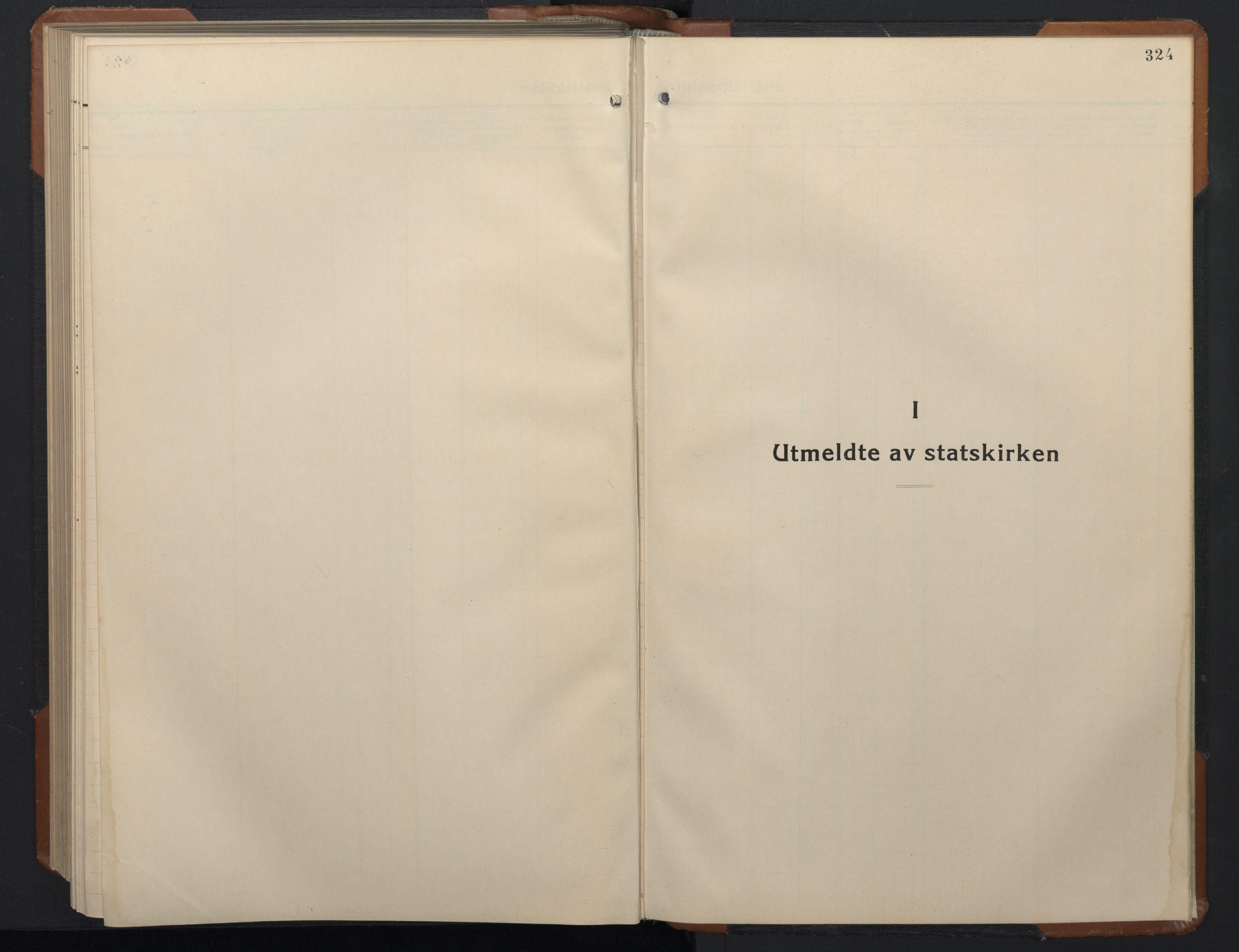 SAT, Ministerialprotokoller, klokkerbøker og fødselsregistre - Sør-Trøndelag, 657/L0718: Klokkerbok nr. 657C05, 1923-1948, s. 324