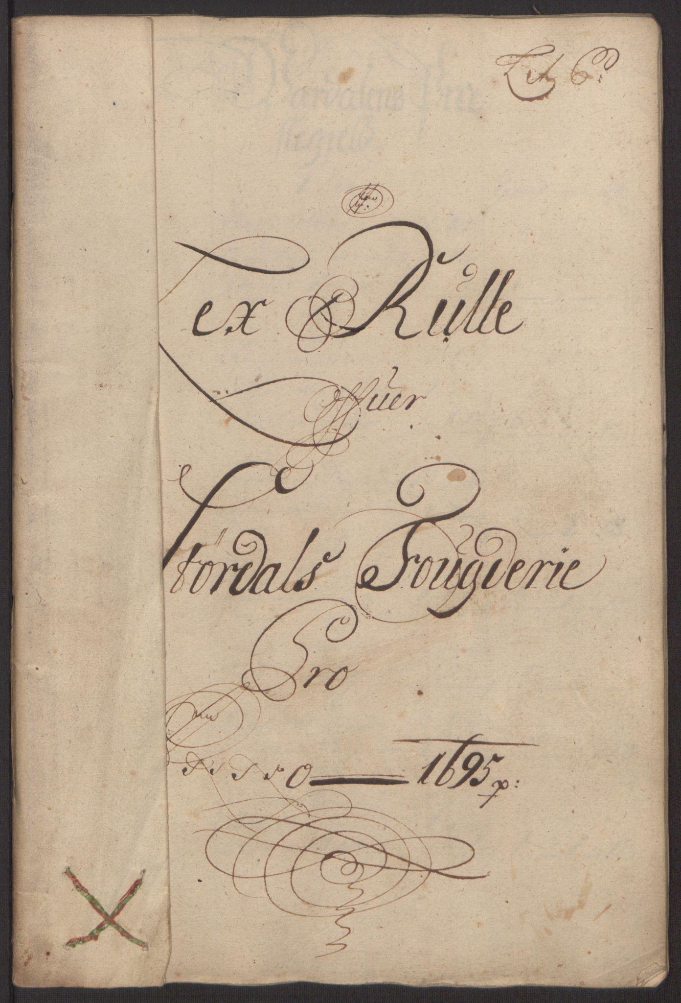 RA, Rentekammeret inntil 1814, Reviderte regnskaper, Fogderegnskap, R62/L4187: Fogderegnskap Stjørdal og Verdal, 1695, s. 66