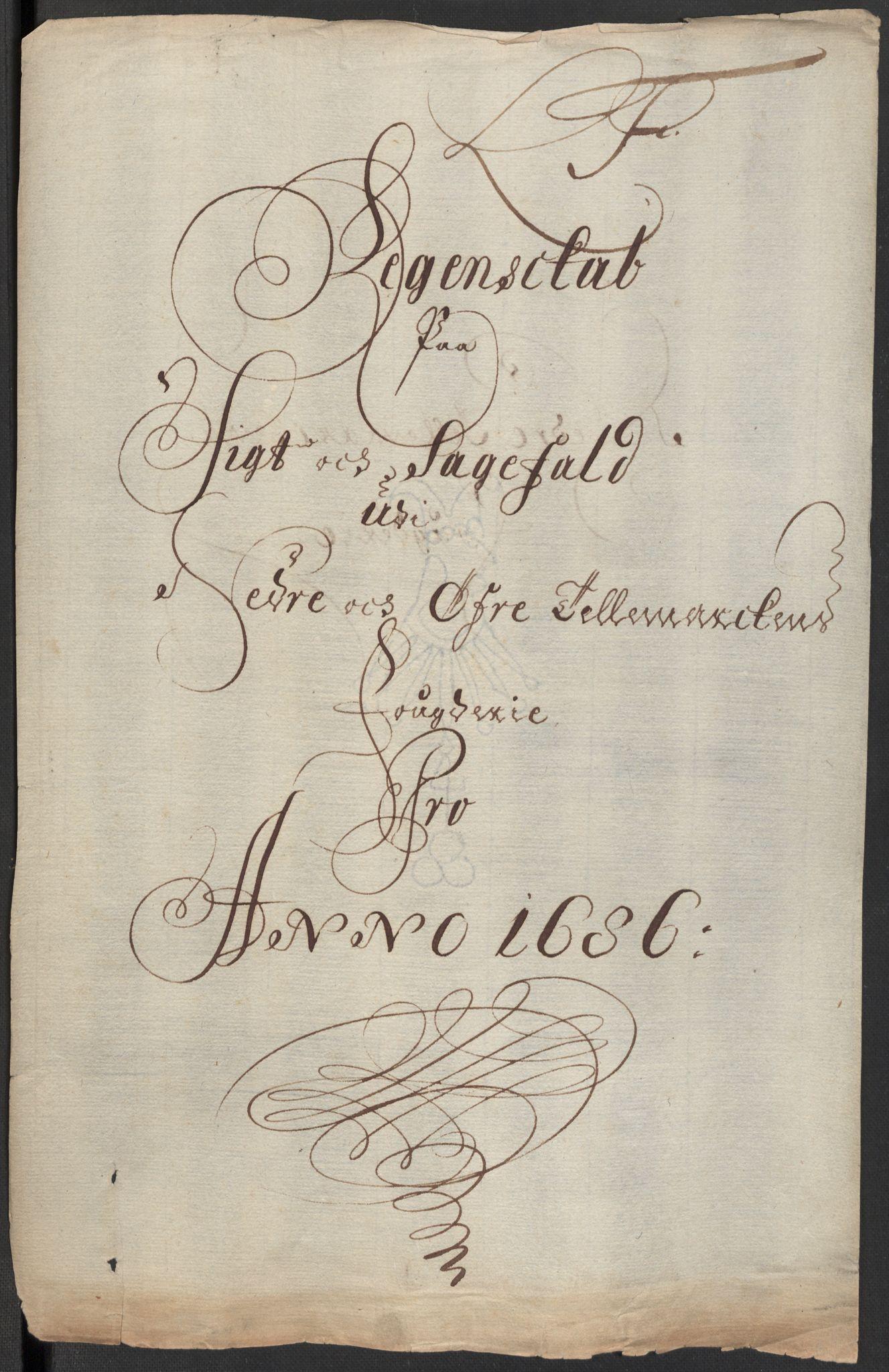 RA, Rentekammeret inntil 1814, Reviderte regnskaper, Fogderegnskap, R35/L2083: Fogderegnskap Øvre og Nedre Telemark, 1686, s. 66