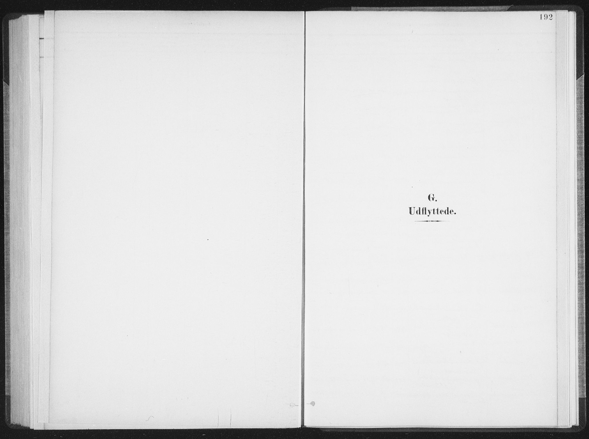 SAT, Ministerialprotokoller, klokkerbøker og fødselsregistre - Nordland, 897/L1400: Ministerialbok nr. 897A07, 1897-1908, s. 192