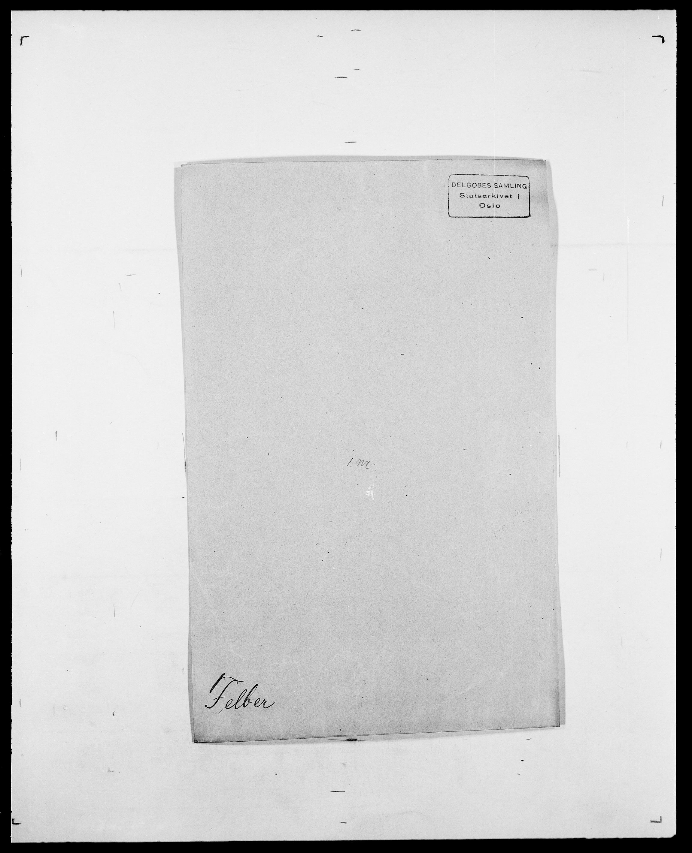 SAO, Delgobe, Charles Antoine - samling, D/Da/L0011: Fahlander - Flood, Flod, s. 324