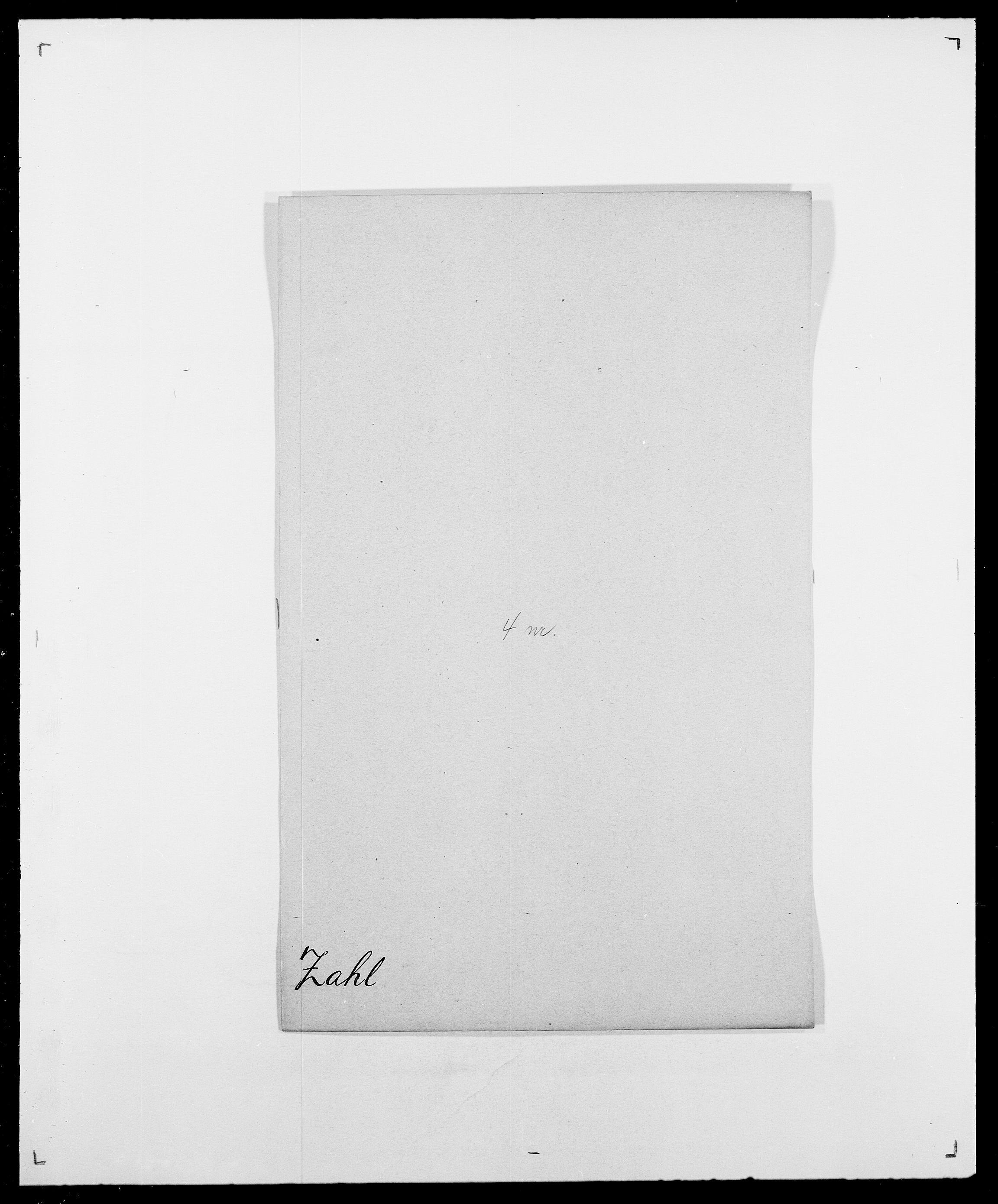 SAO, Delgobe, Charles Antoine - samling, D/Da/L0043: Wulfsberg - v. Zanten, s. 68
