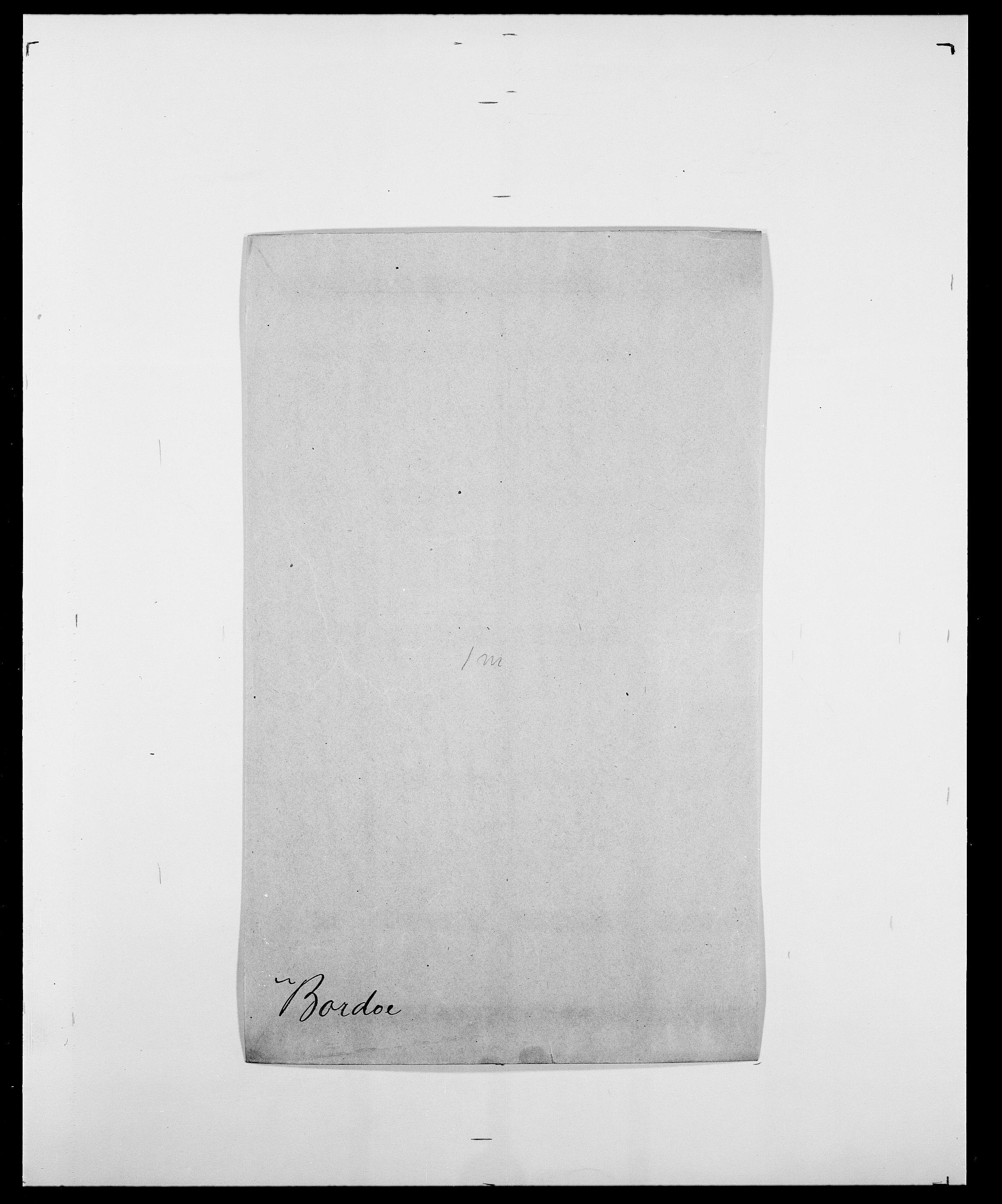 SAO, Delgobe, Charles Antoine - samling, D/Da/L0005: Boalth - Brahm, s. 268