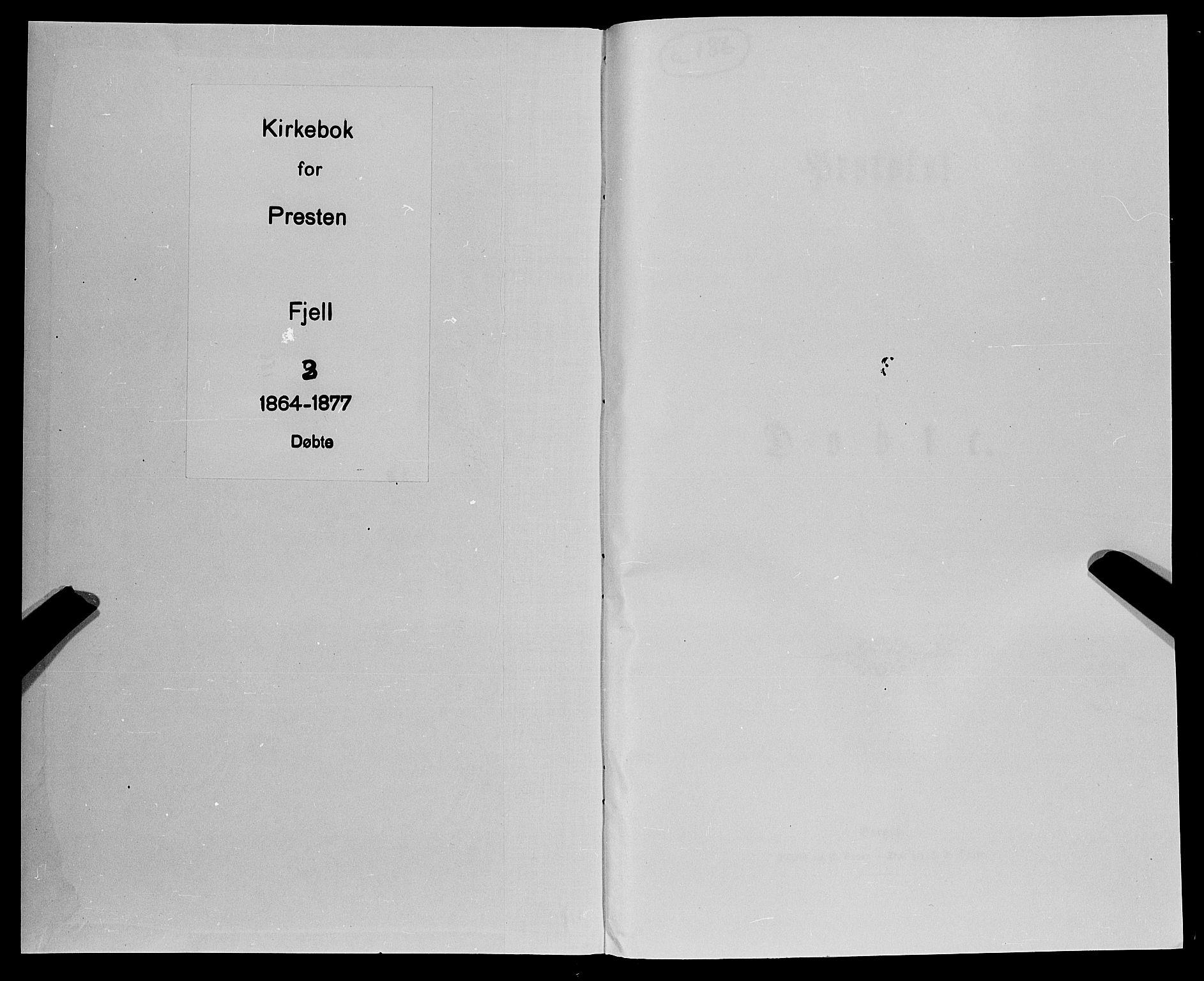 SAB, Fjell Sokneprestembete, H/Haa: Ministerialbok nr. A 3, 1864-1877