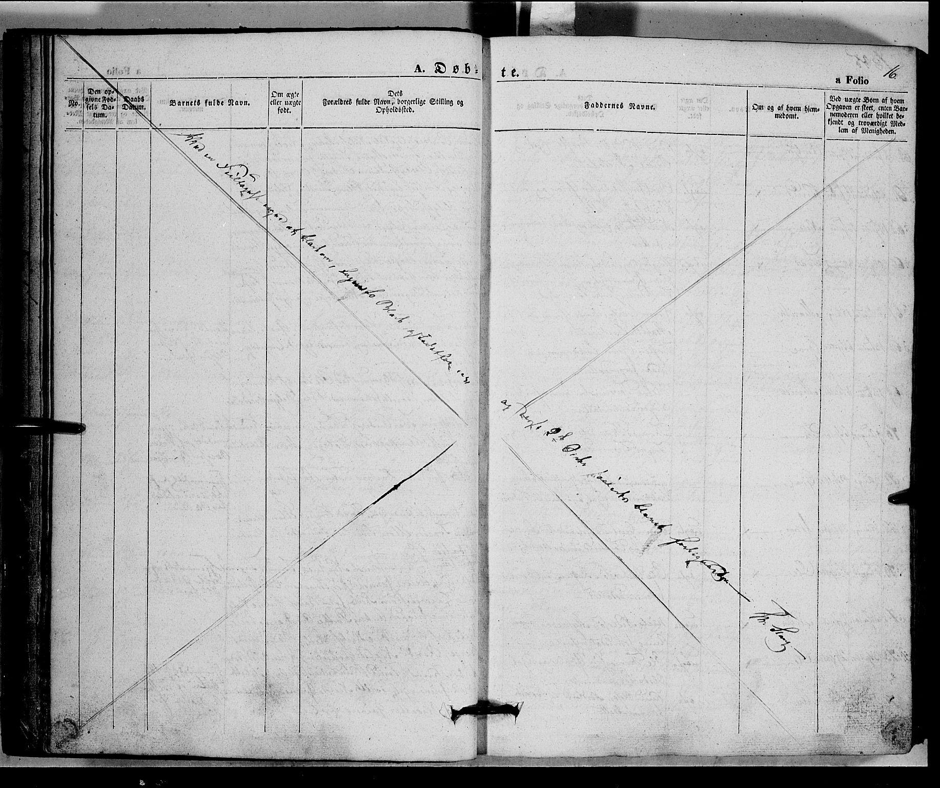 SAH, Vang prestekontor, Valdres, Ministerialbok nr. 5, 1831-1845, s. 16
