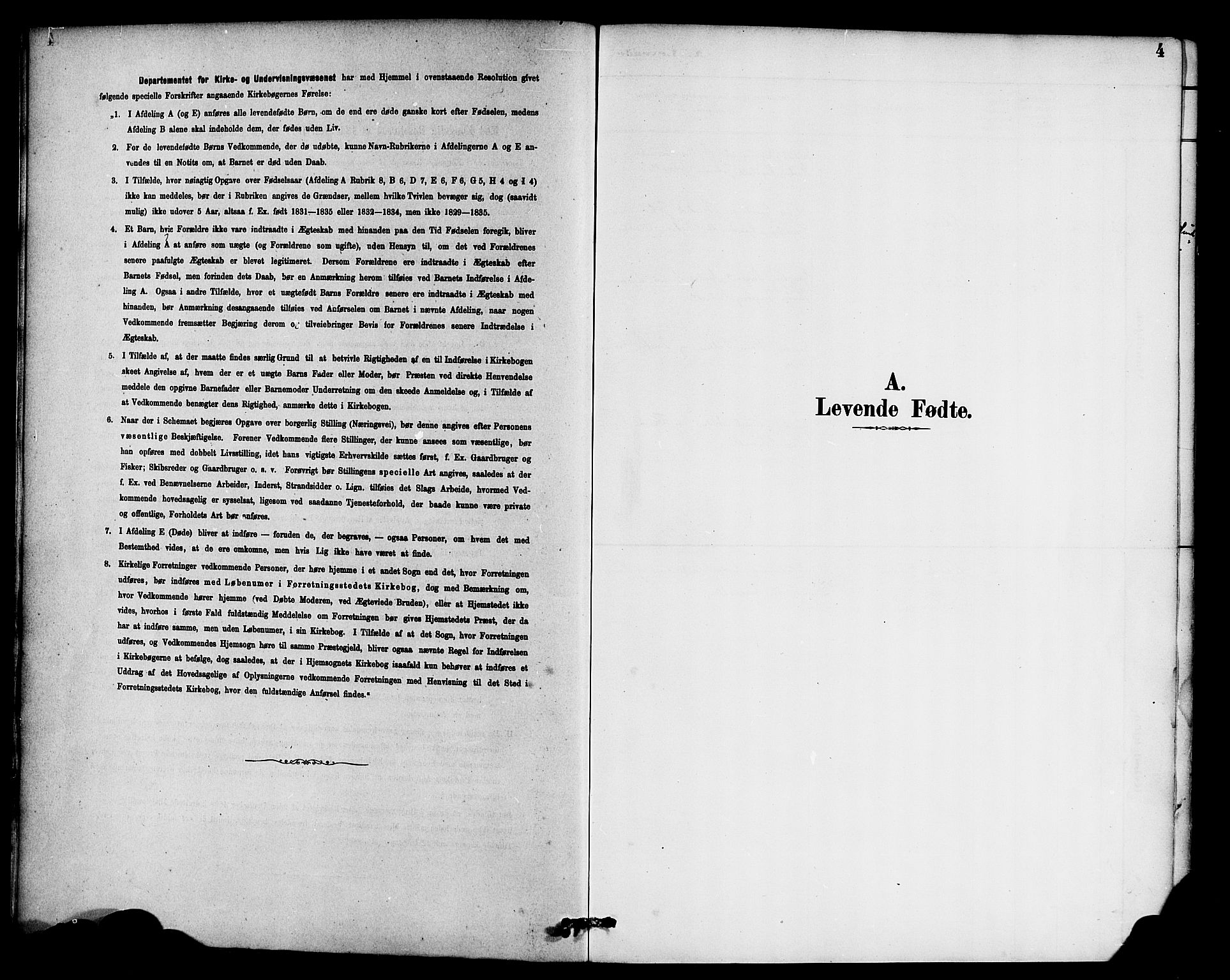SAB, Hyllestad sokneprestembete, Ministerialbok nr. B 1, 1886-1904, s. 4