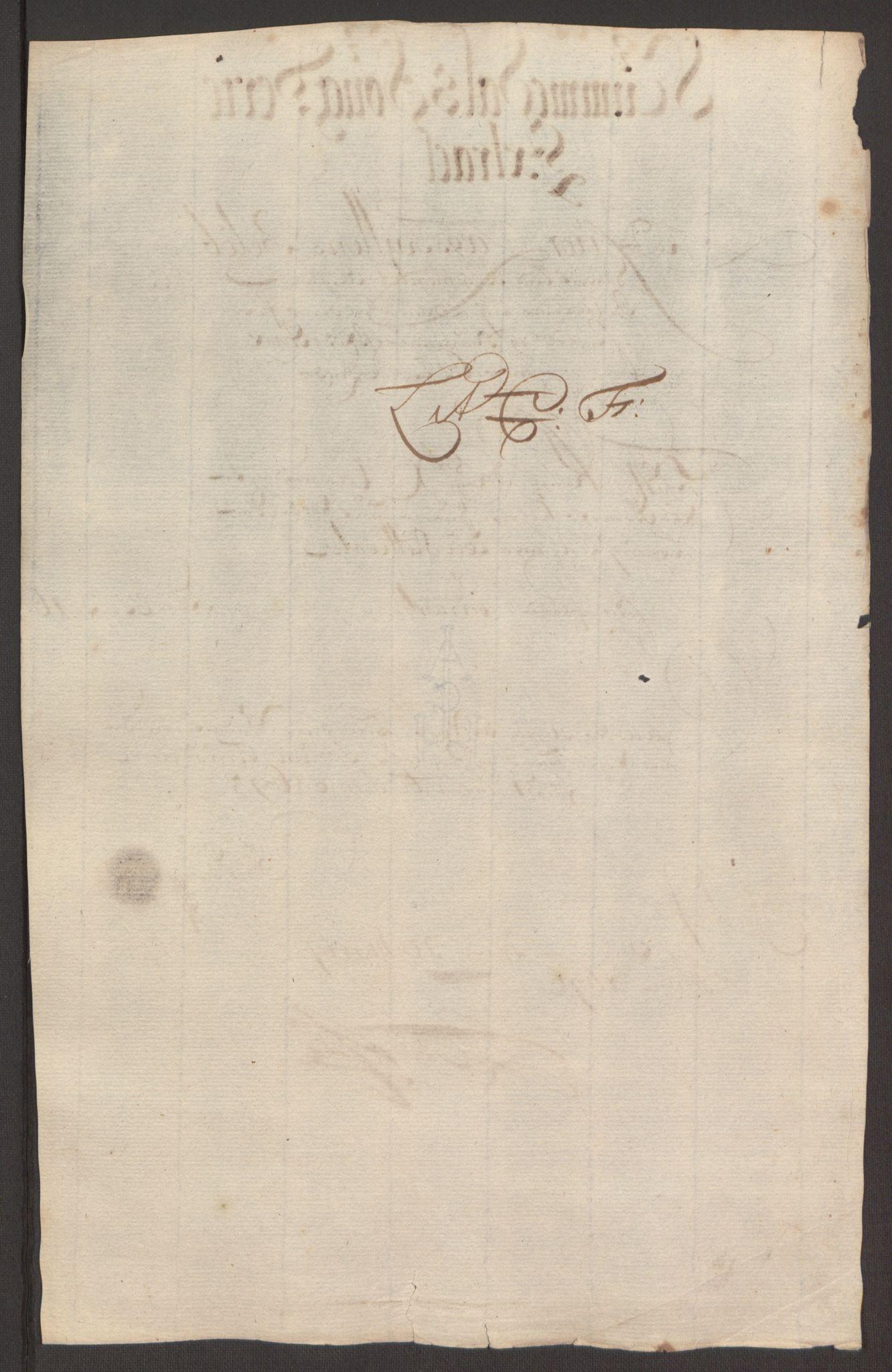 RA, Rentekammeret inntil 1814, Reviderte regnskaper, Fogderegnskap, R64/L4424: Fogderegnskap Namdal, 1692-1695, s. 479