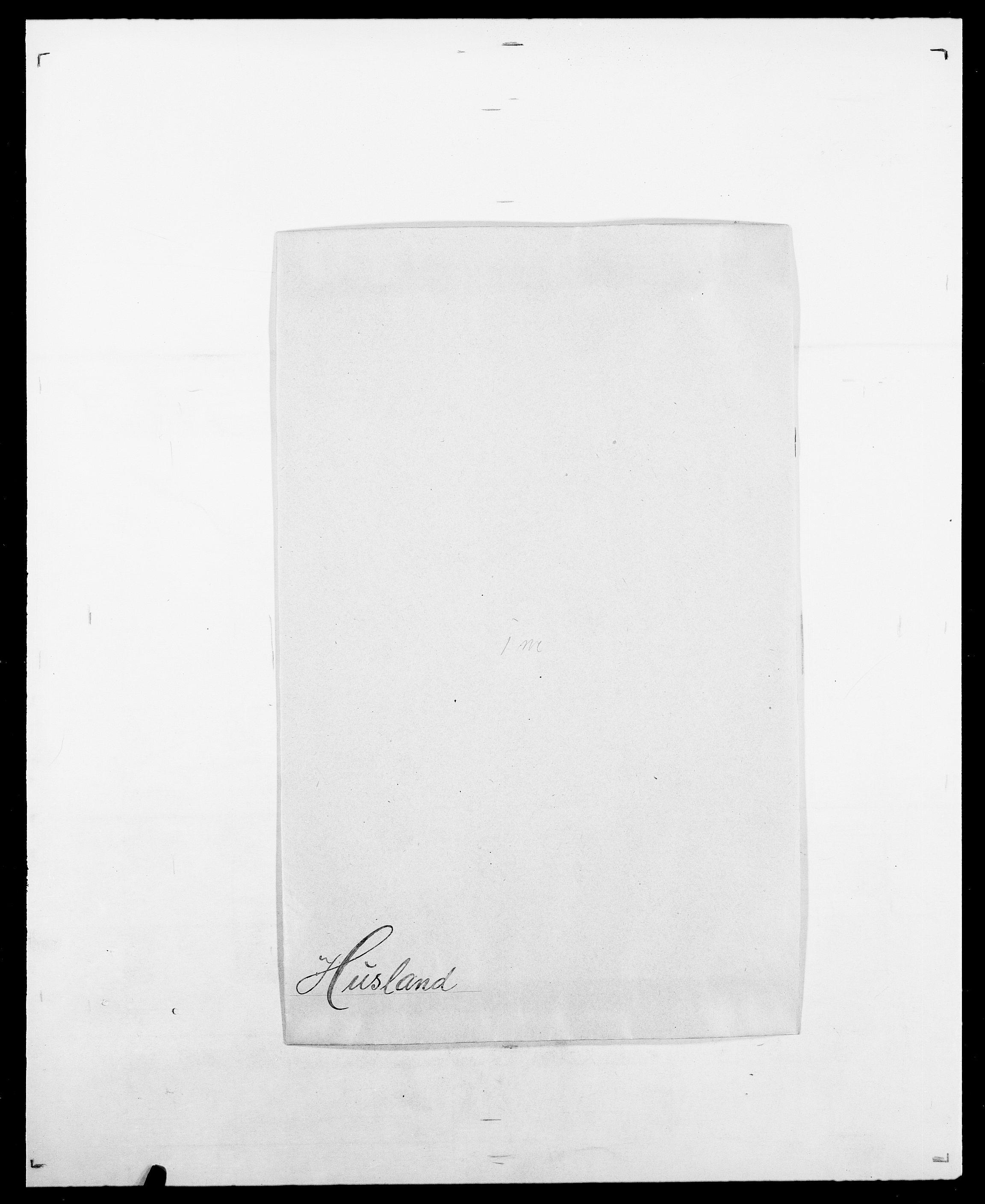 SAO, Delgobe, Charles Antoine - samling, D/Da/L0019: van der Hude - Joys, s. 87